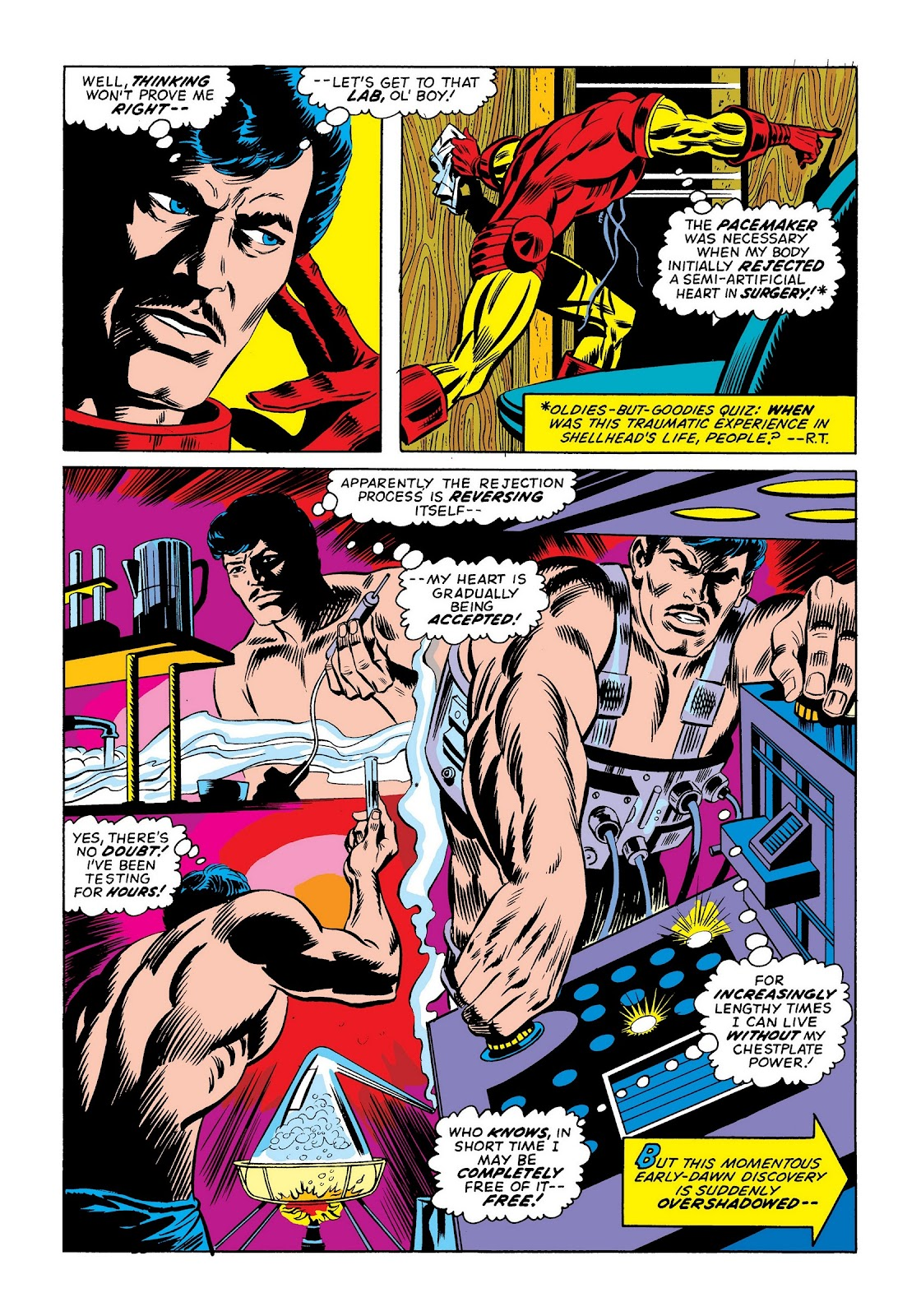 Read online Marvel Masterworks: The Invincible Iron Man comic -  Issue # TPB 9 (Part 2) - 1