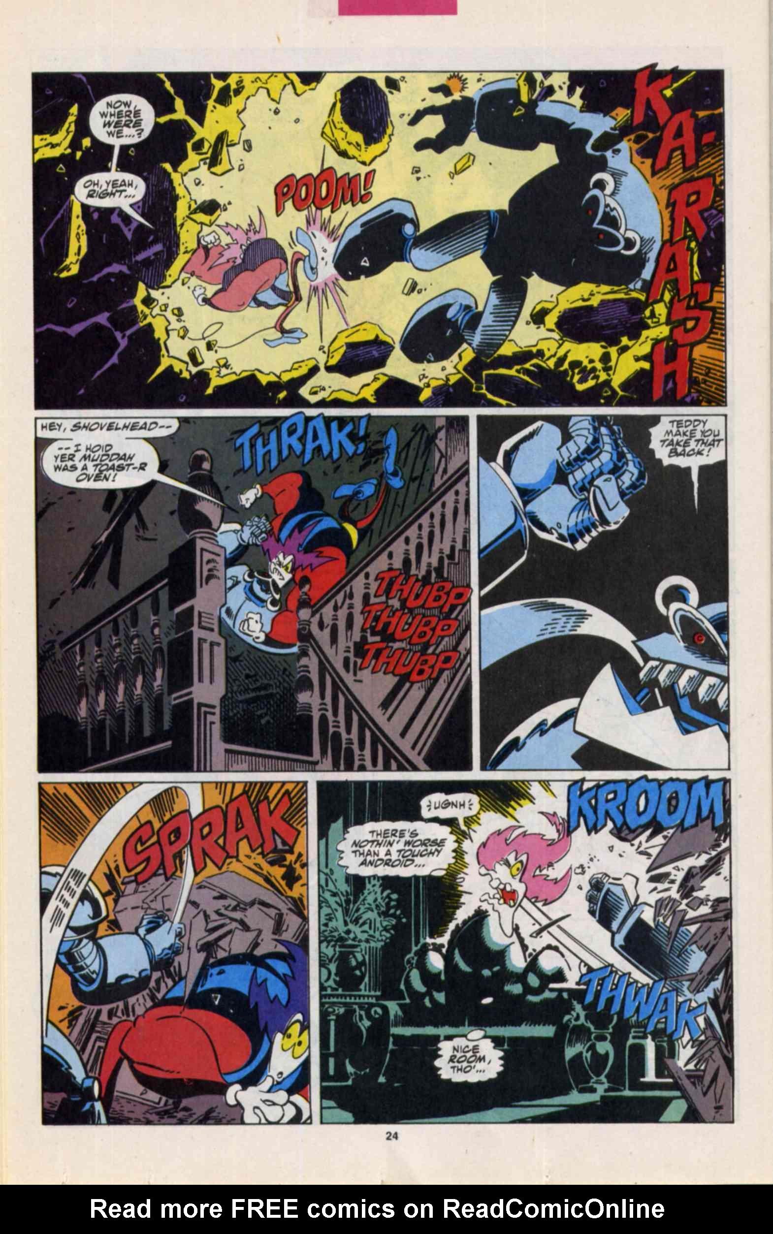 Read online Slapstick comic -  Issue #3 - 19