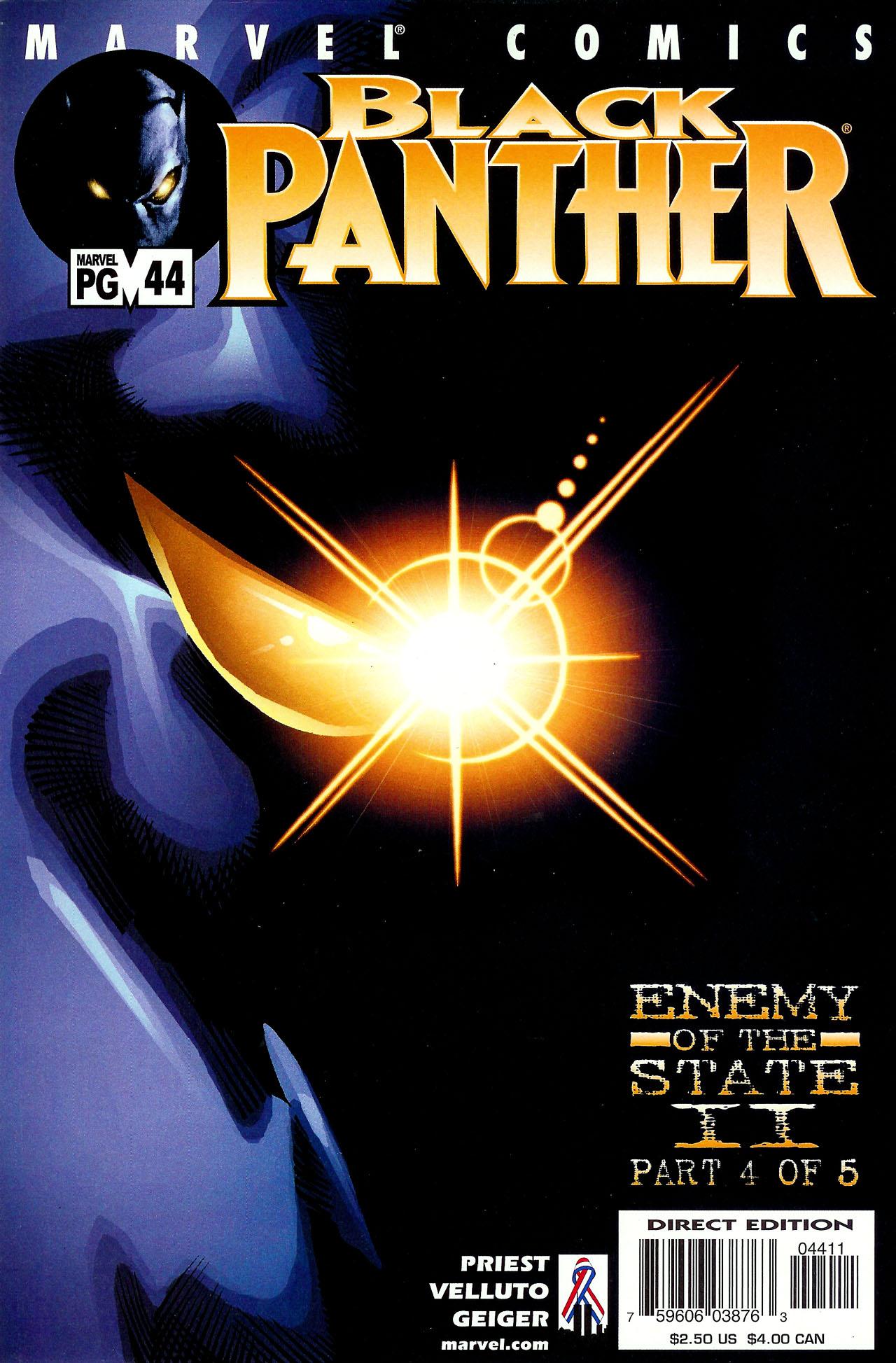 Black Panther (1998) 44 Page 1