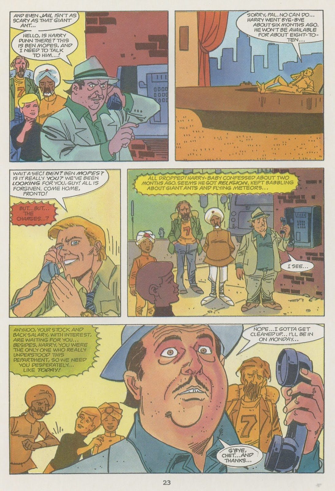 Jonny Quest (1986) issue 19 - Page 25