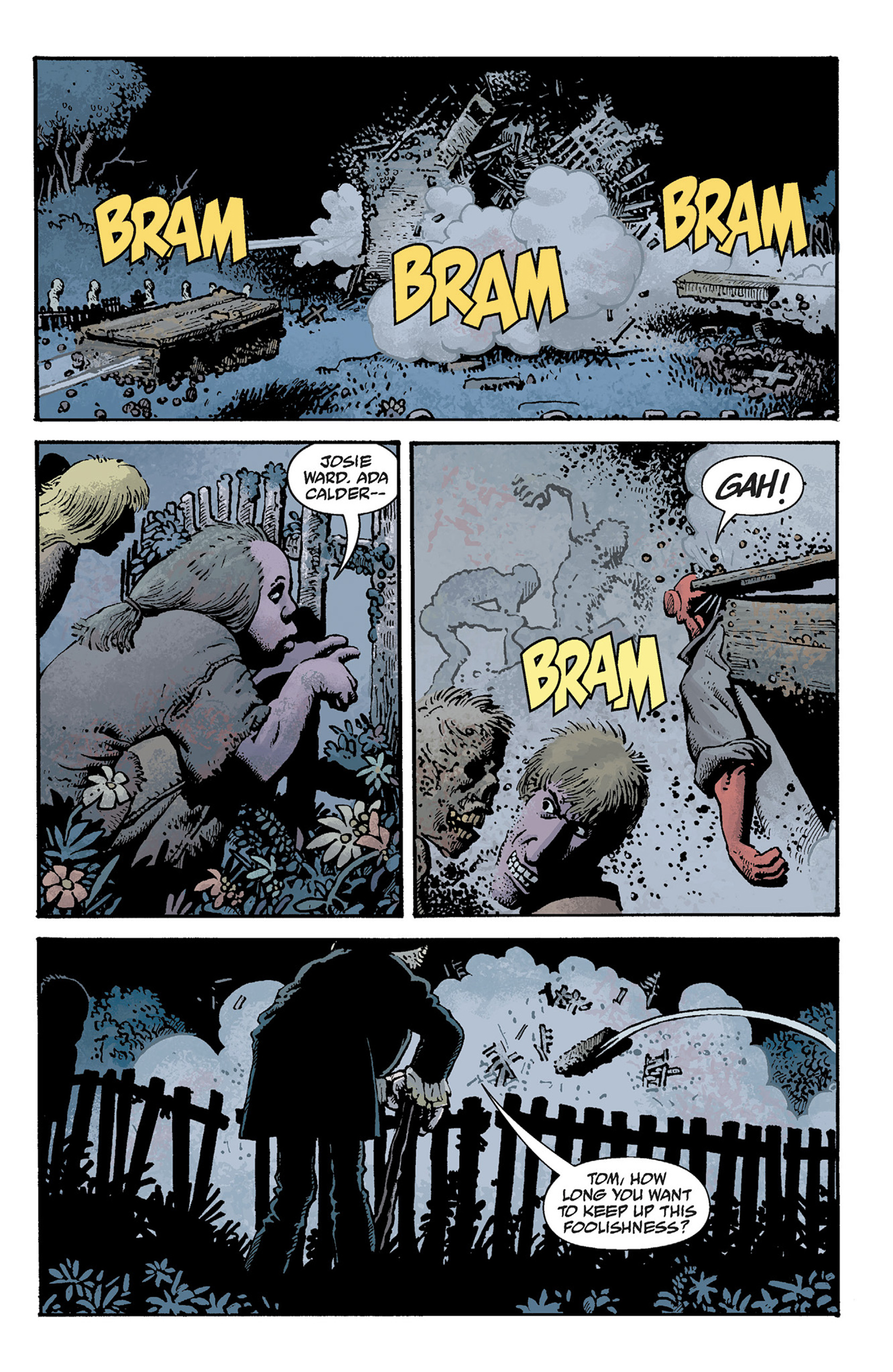 Read online Hellboy: The Crooked Man and Others comic -  Issue # TPB - 67