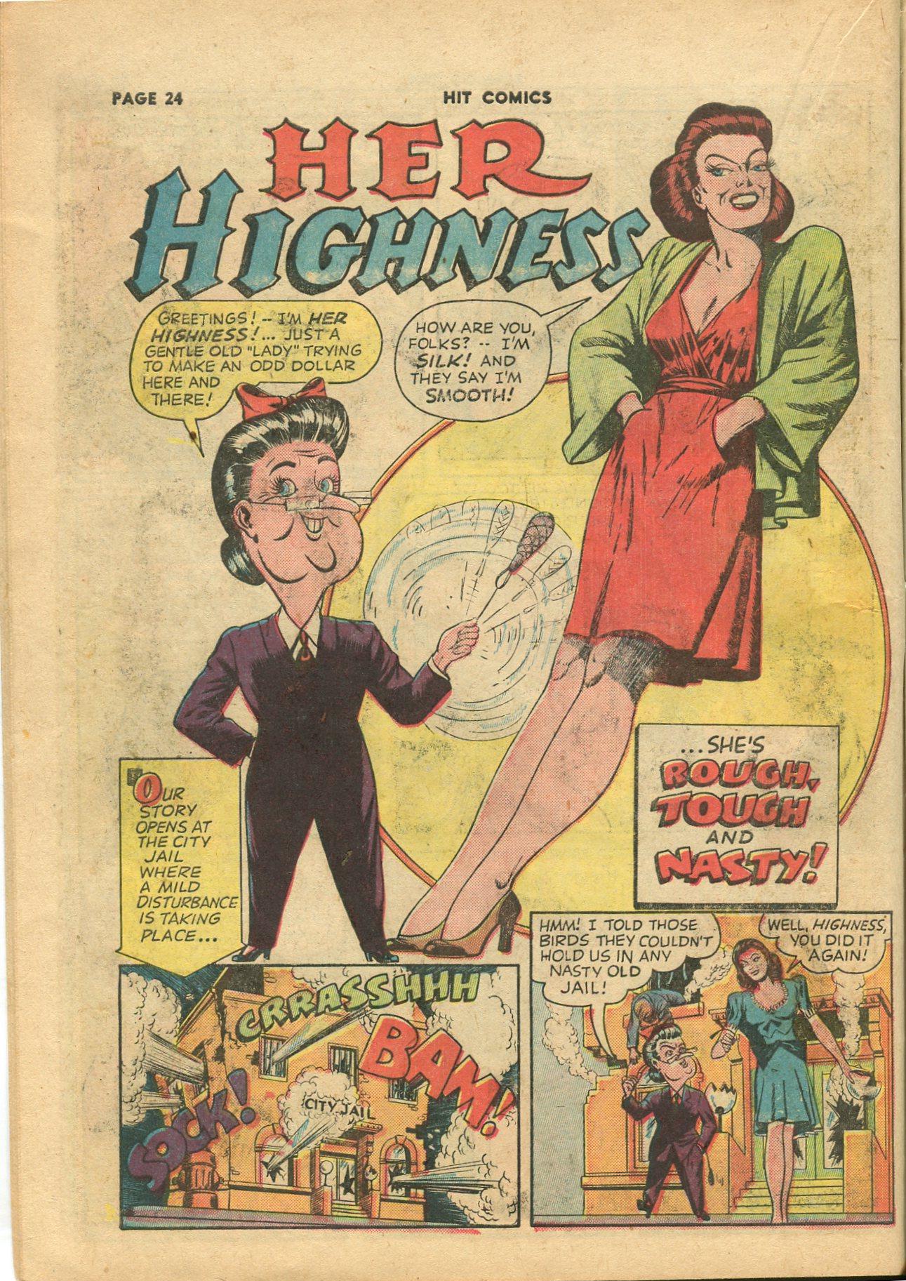 Read online Hit Comics comic -  Issue #28 - 27