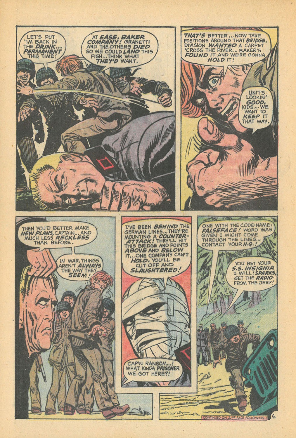 Read online Star Spangled War Stories (1952) comic -  Issue #168 - 8