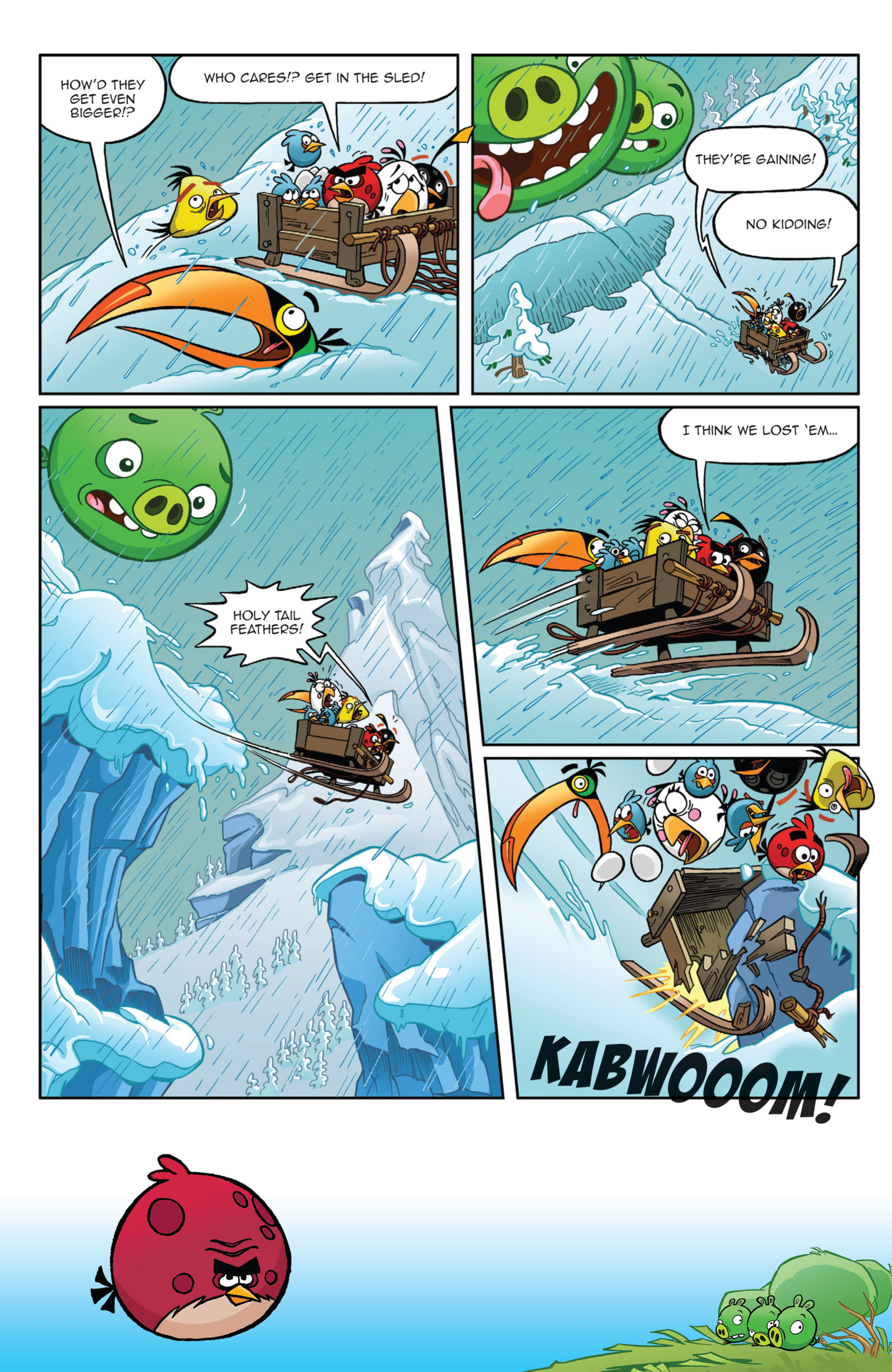 Read online Angry Birds Comics (2014) comic -  Issue #9 - 13