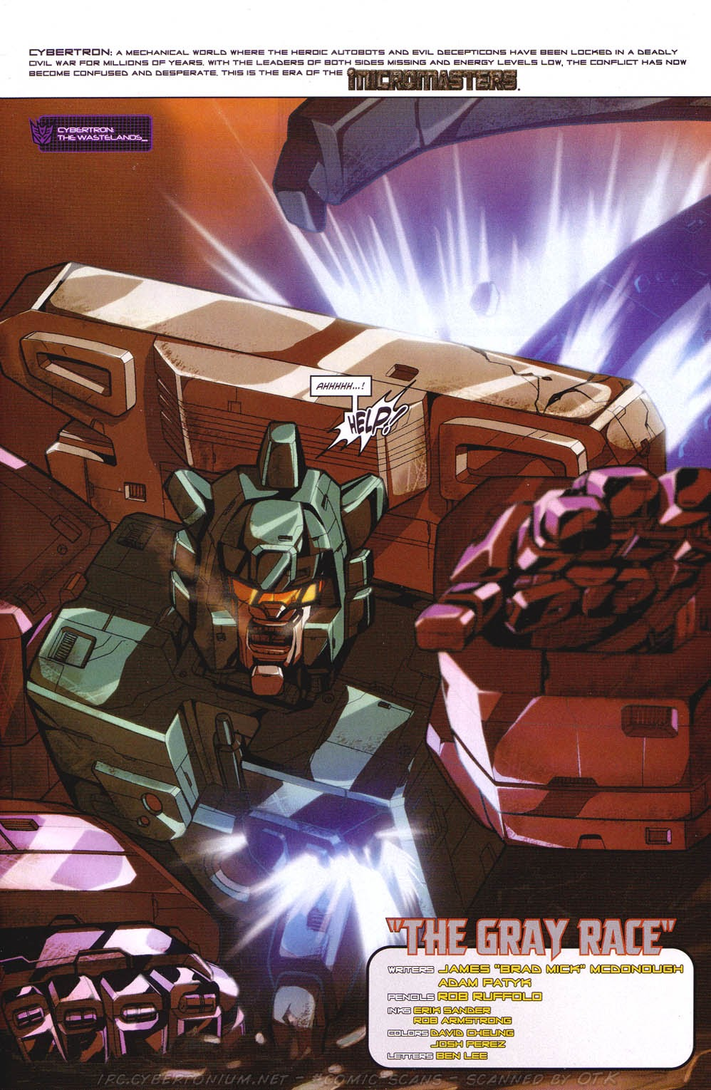 Read online Transformers: Micromasters comic -  Issue #2 - 4