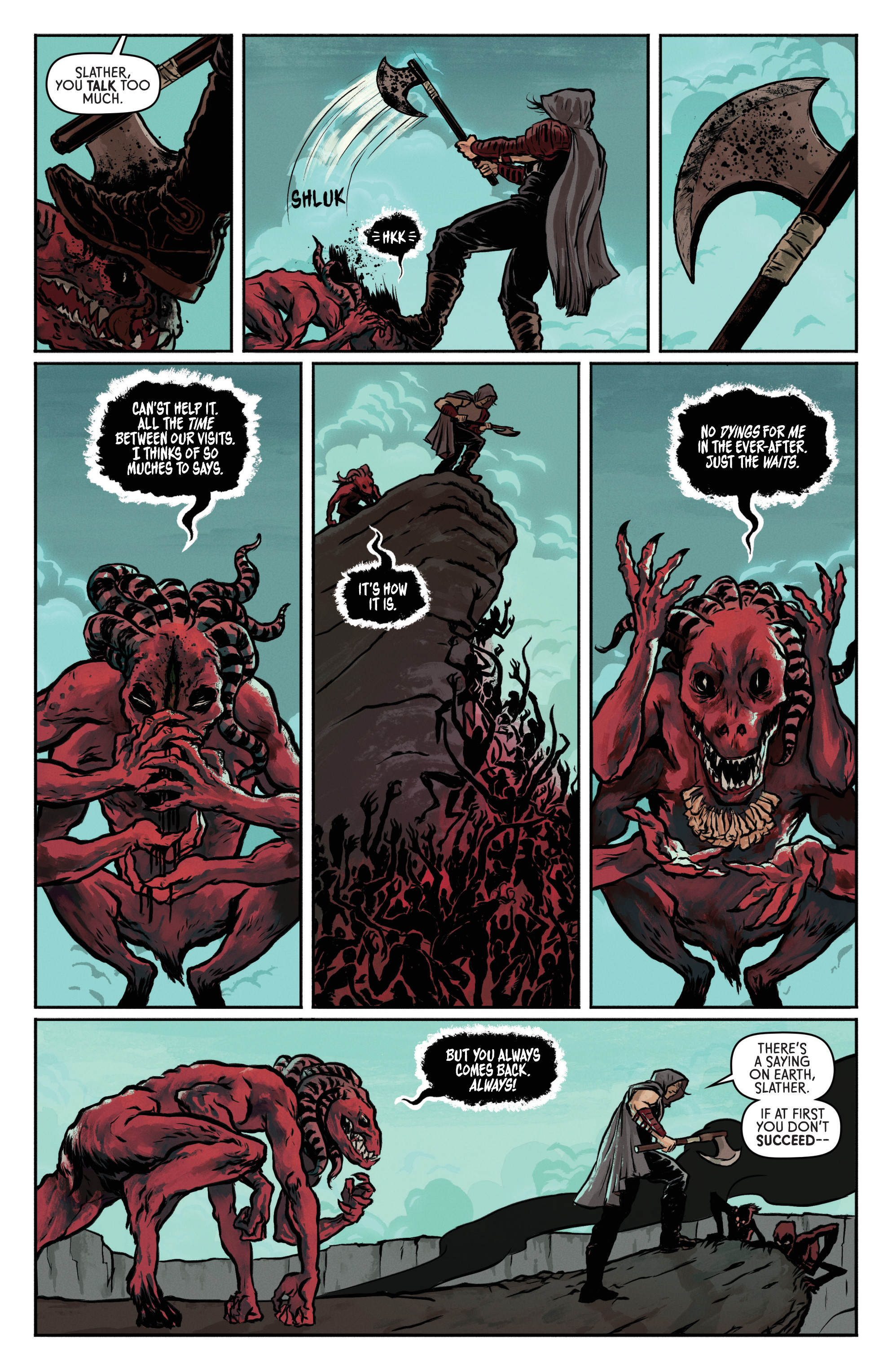 Read online Wrath of the Eternal Warrior comic -  Issue #1 - 5