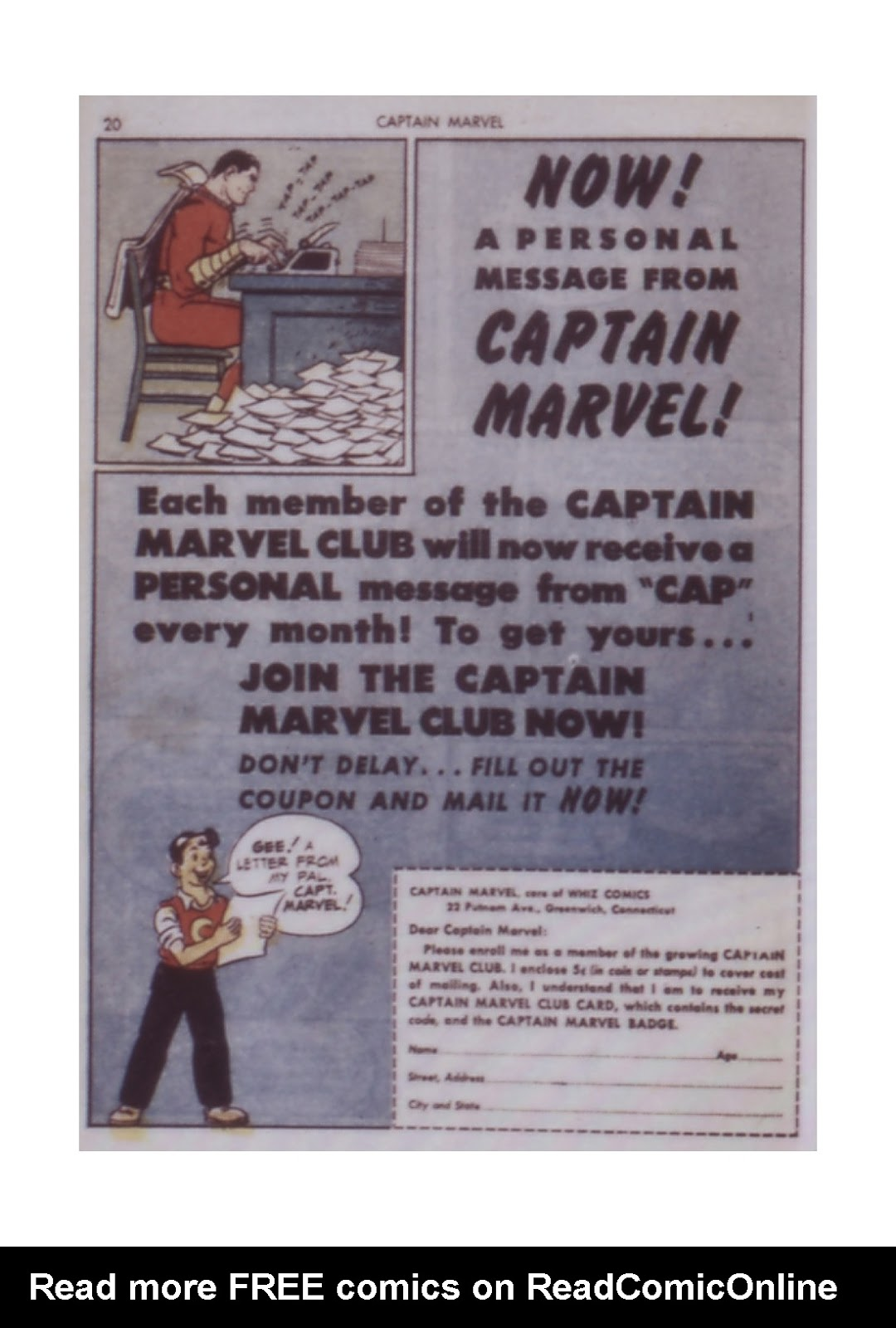 Captain Marvel Adventures issue 14 - Page 20