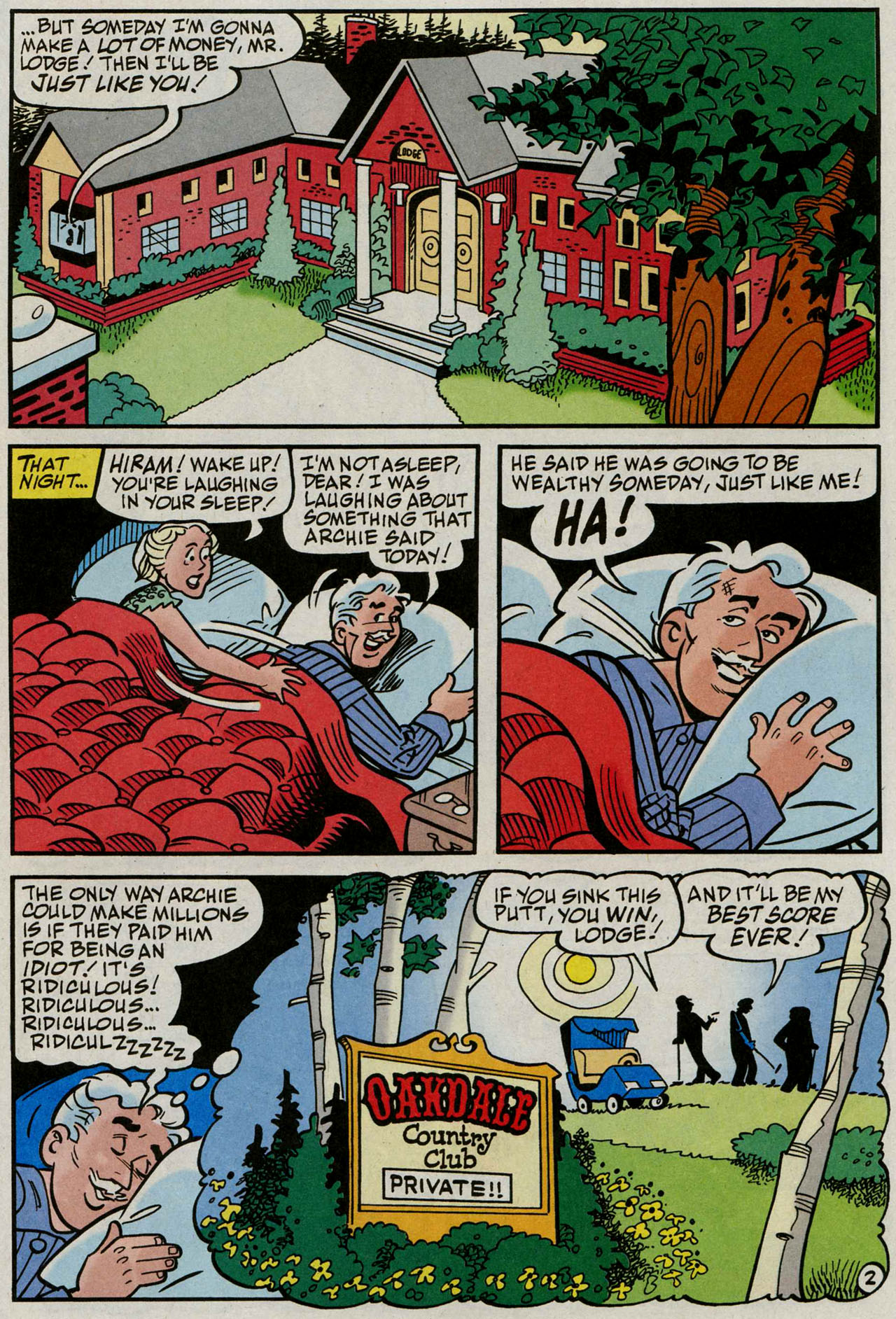 Read online Archie (1960) comic -  Issue #586 - 20