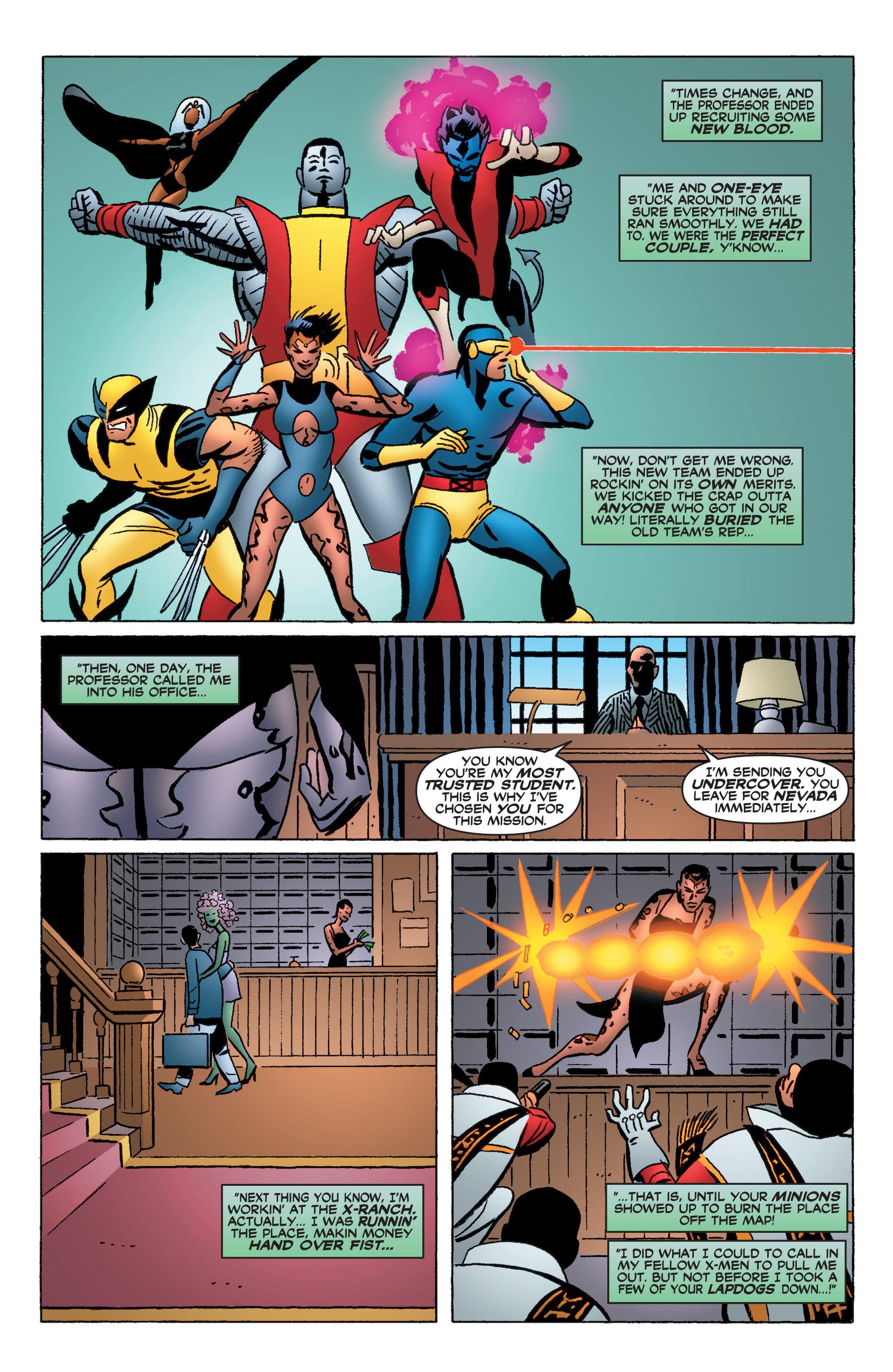Read online Uncanny X-Men (1963) comic -  Issue #400 - 29