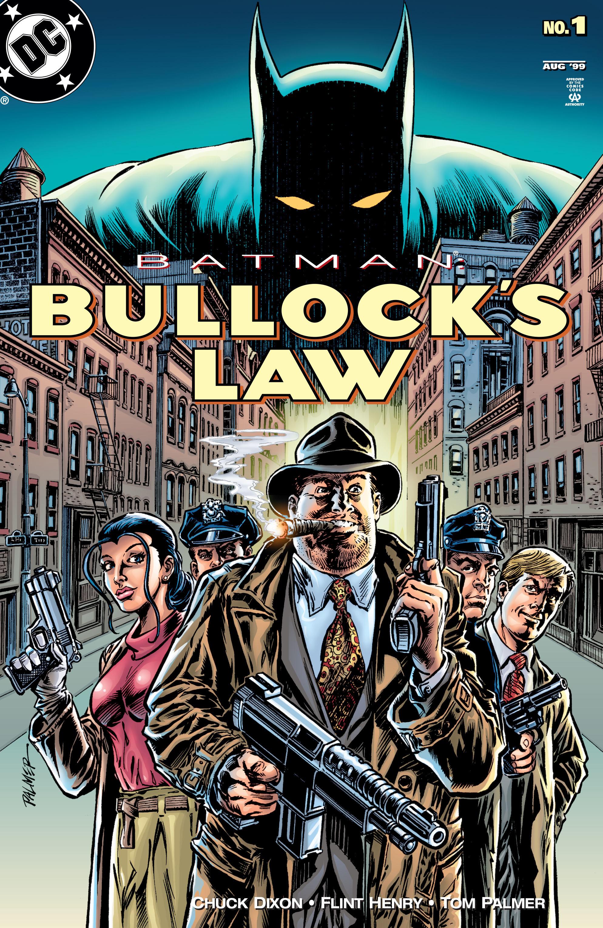 Batman: Bullocks Law Full Page 1