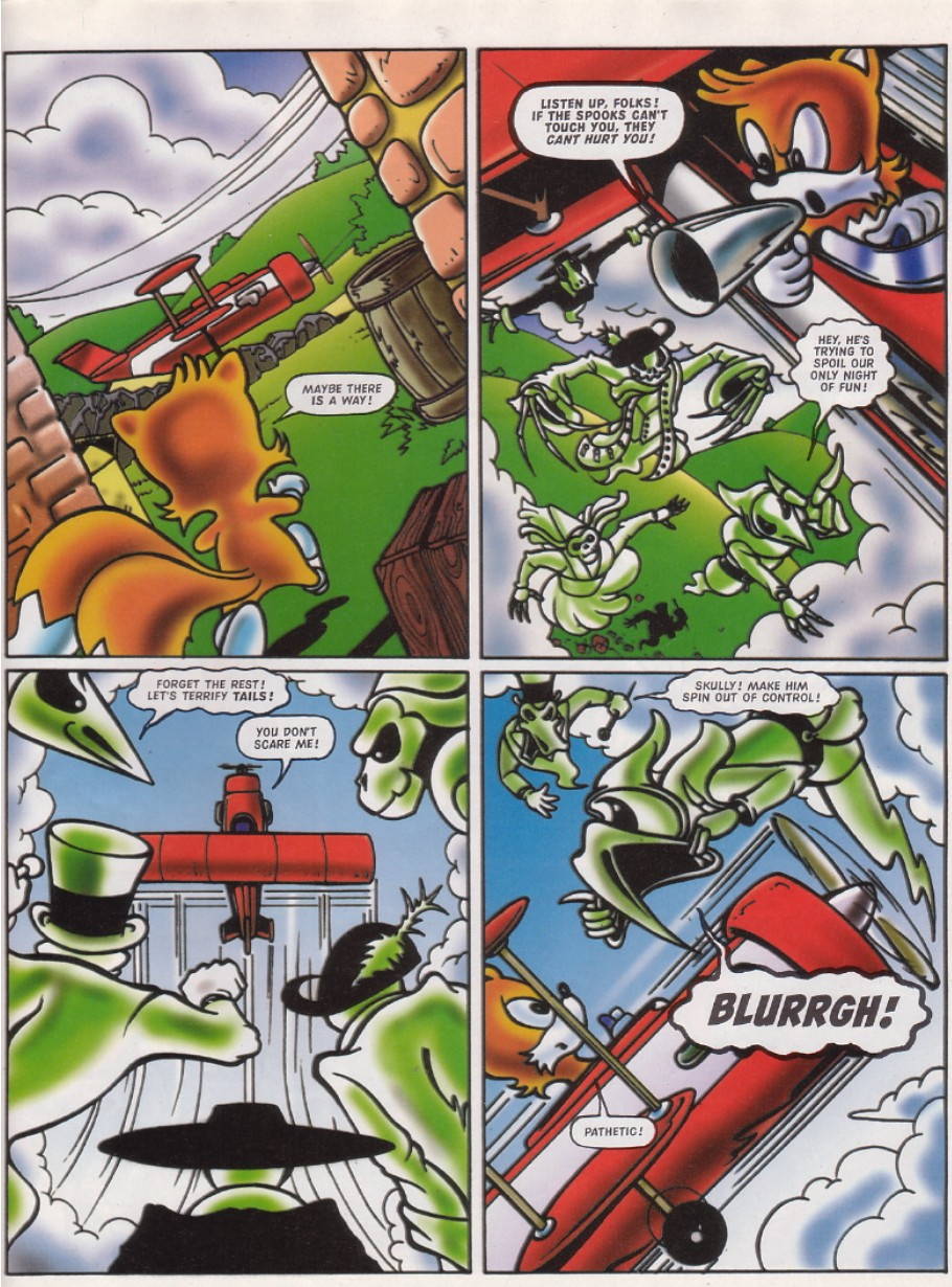 Read online Sonic the Comic comic -  Issue #141 - 19