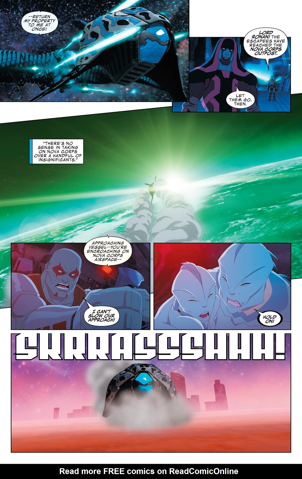 Read online Marvel Universe Guardians of the Galaxy [I] comic -  Issue #3 - 21