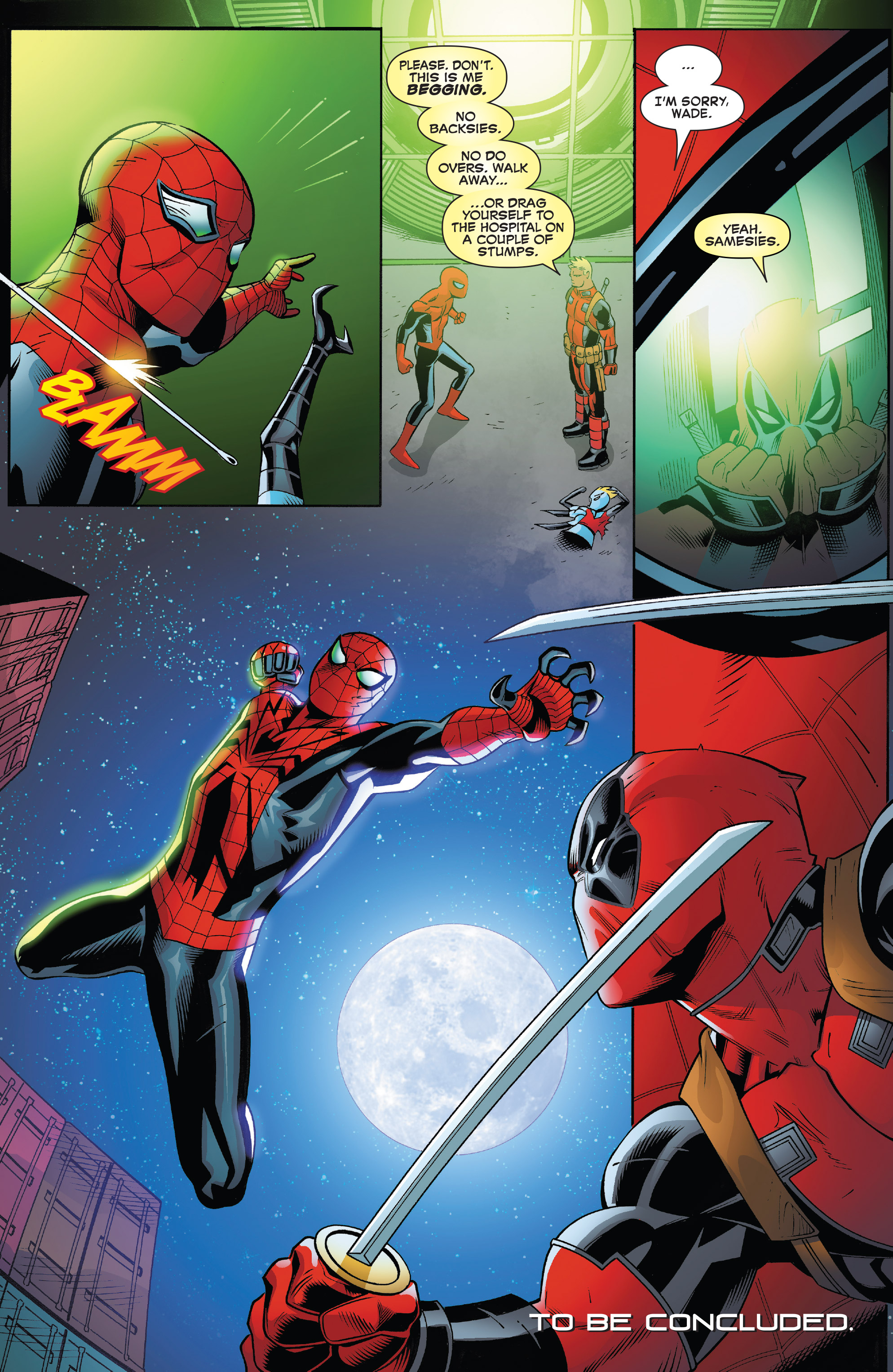Read online Spider-Man/Deadpool comic -  Issue #17 - 19