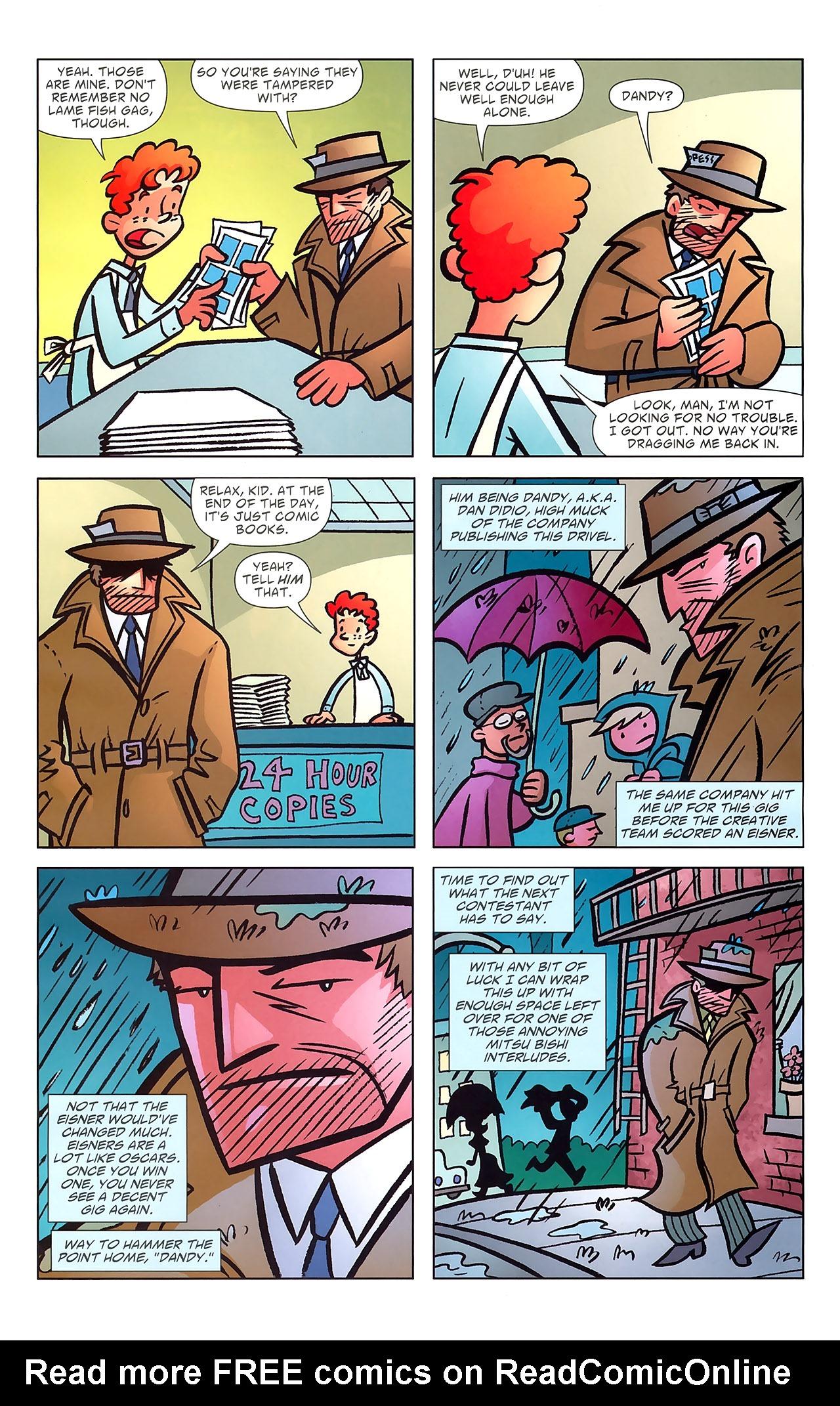 Read online Ambush Bug: Year None comic -  Issue #7 - 14
