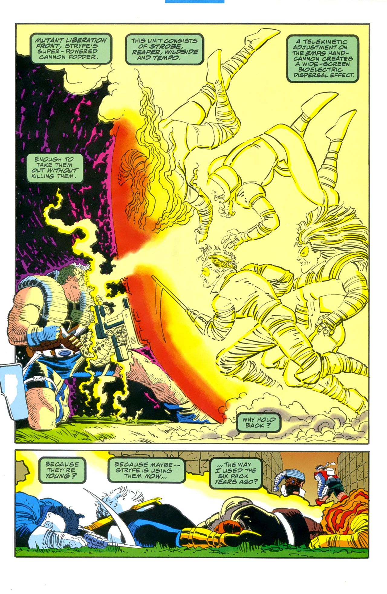 Read online Cable - Blood and Metal comic -  Issue #2 - 25