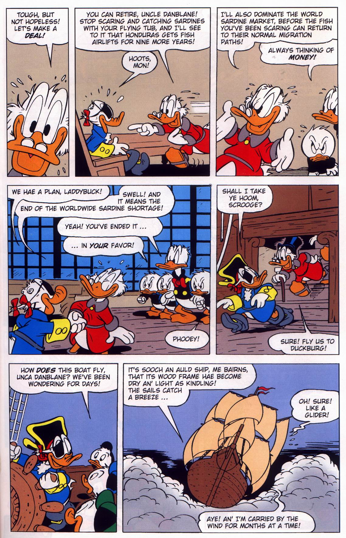 Read online Uncle Scrooge (1953) comic -  Issue #316 - 23