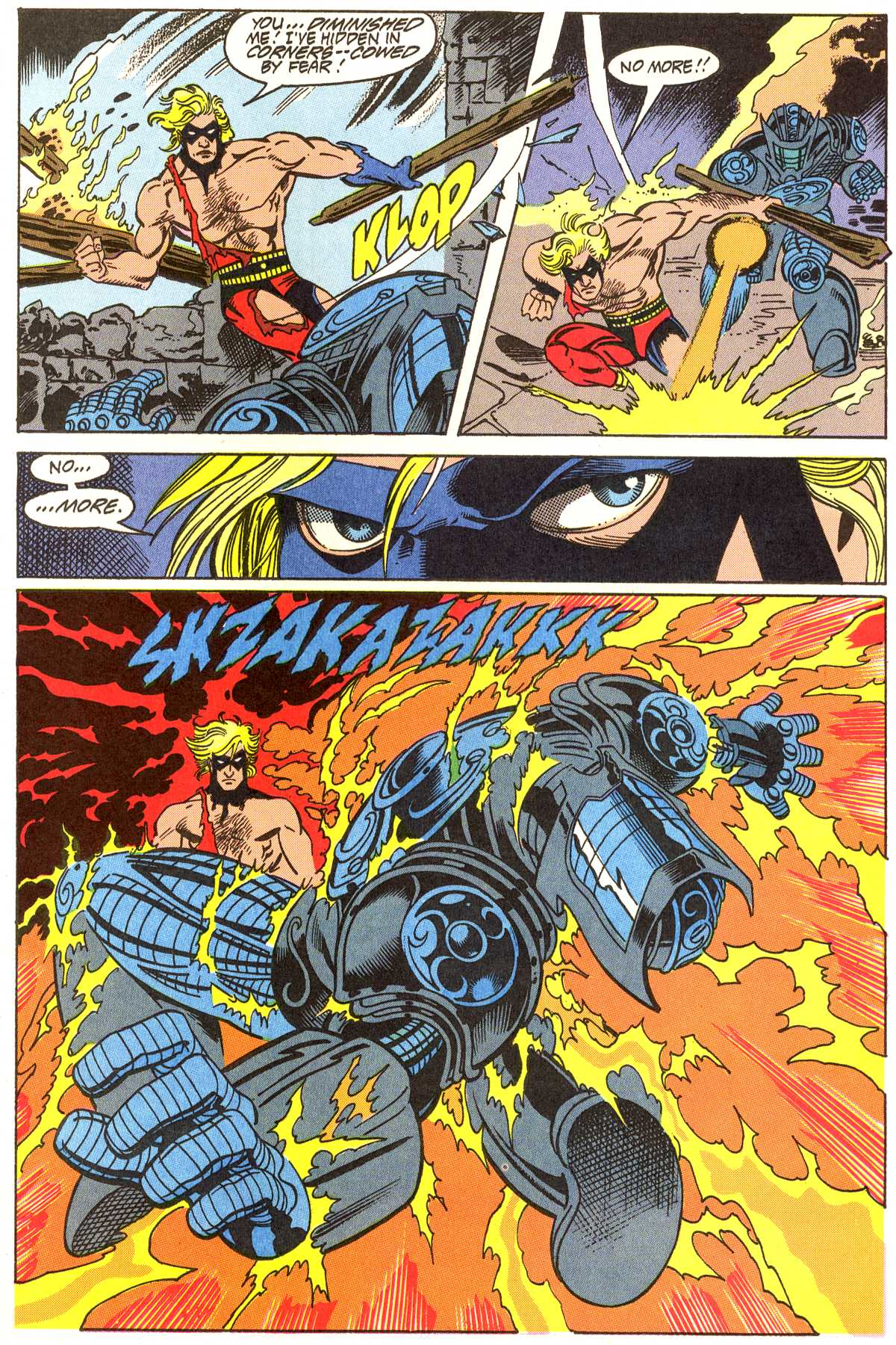 Read online Peter Cannon--Thunderbolt (1992) comic -  Issue #11 - 12