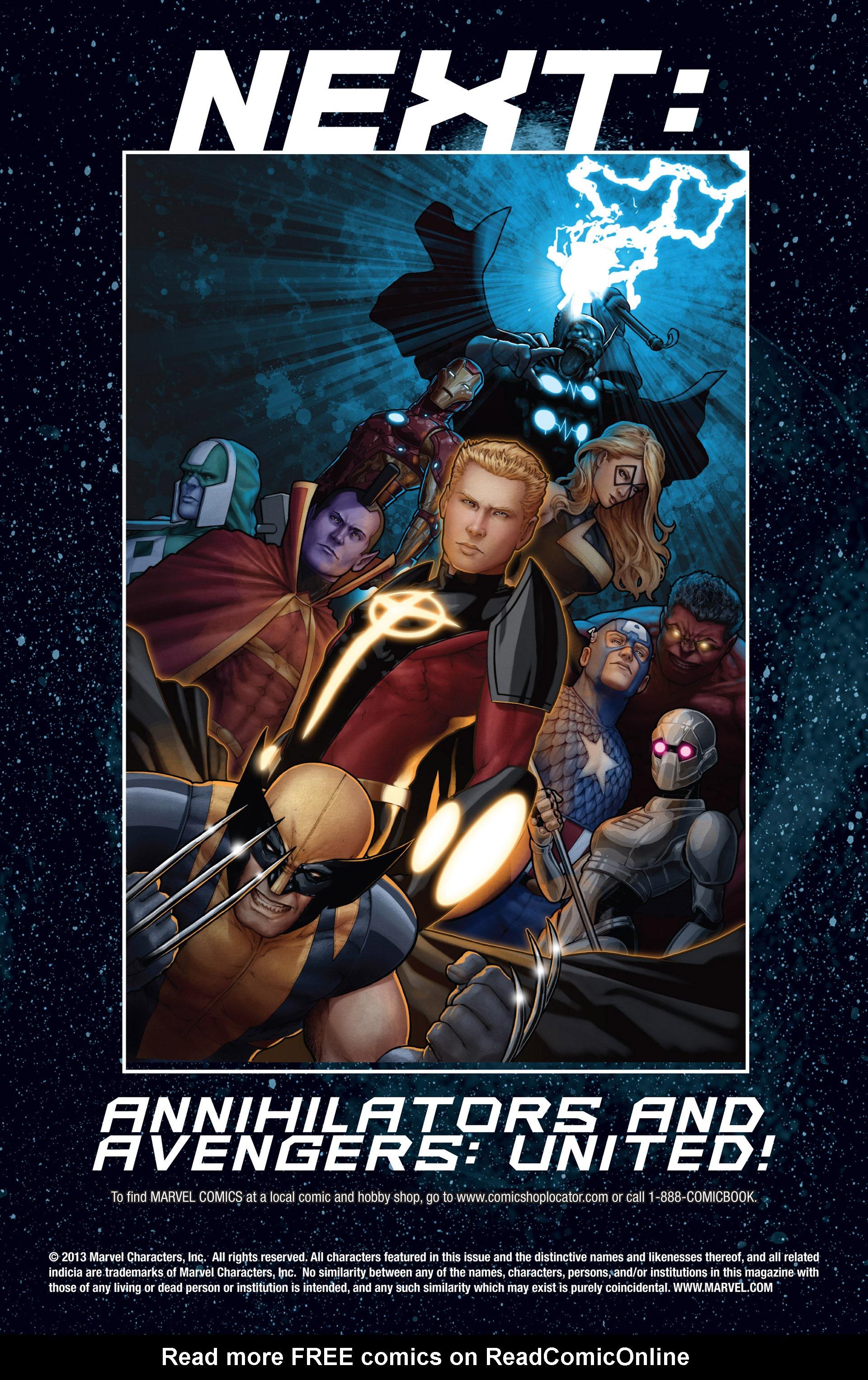 Read online Annihilators: Earthfall comic -  Issue #3 - 26