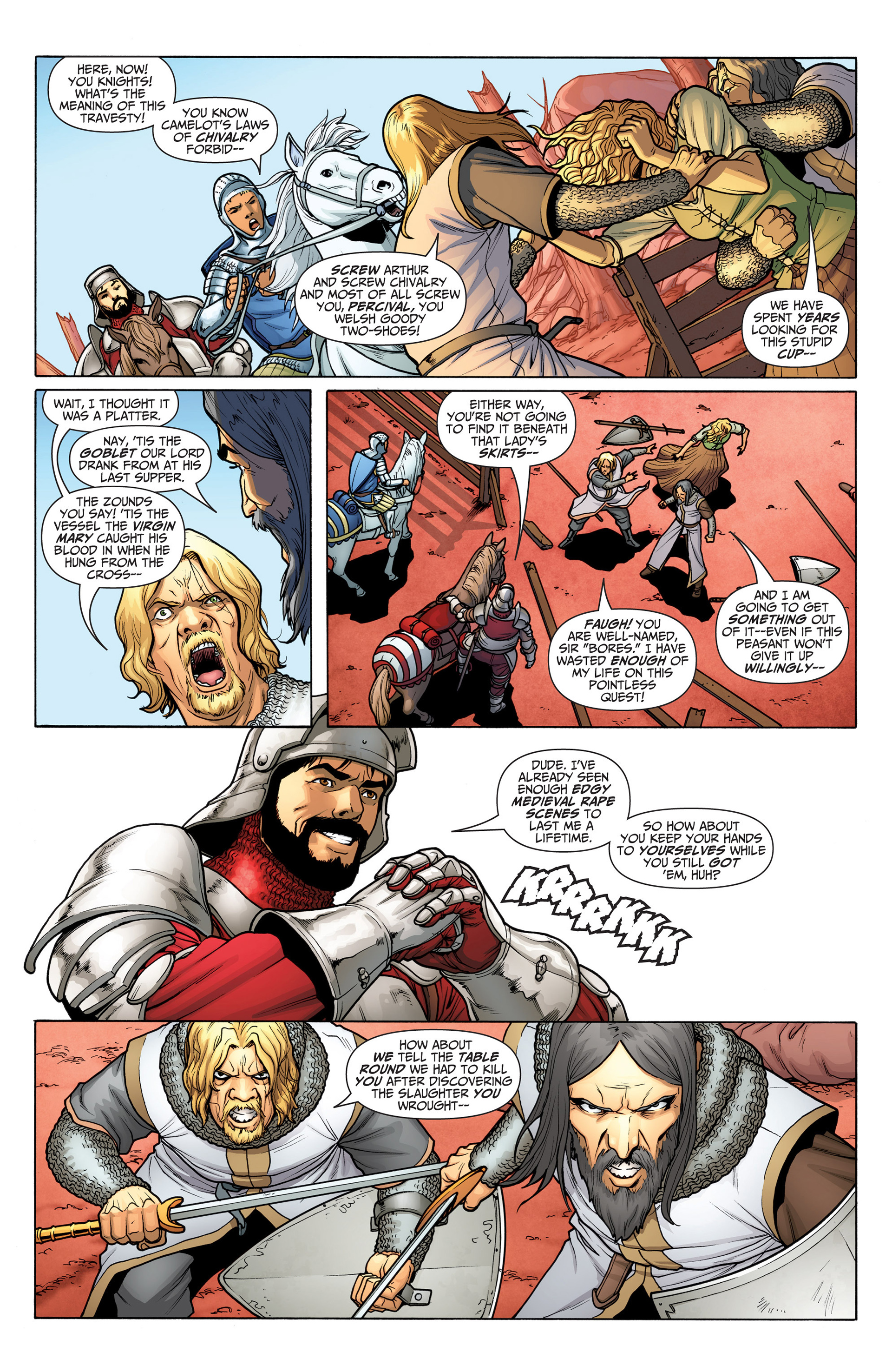 Read online Archer and Armstrong comic -  Issue #22 - 4