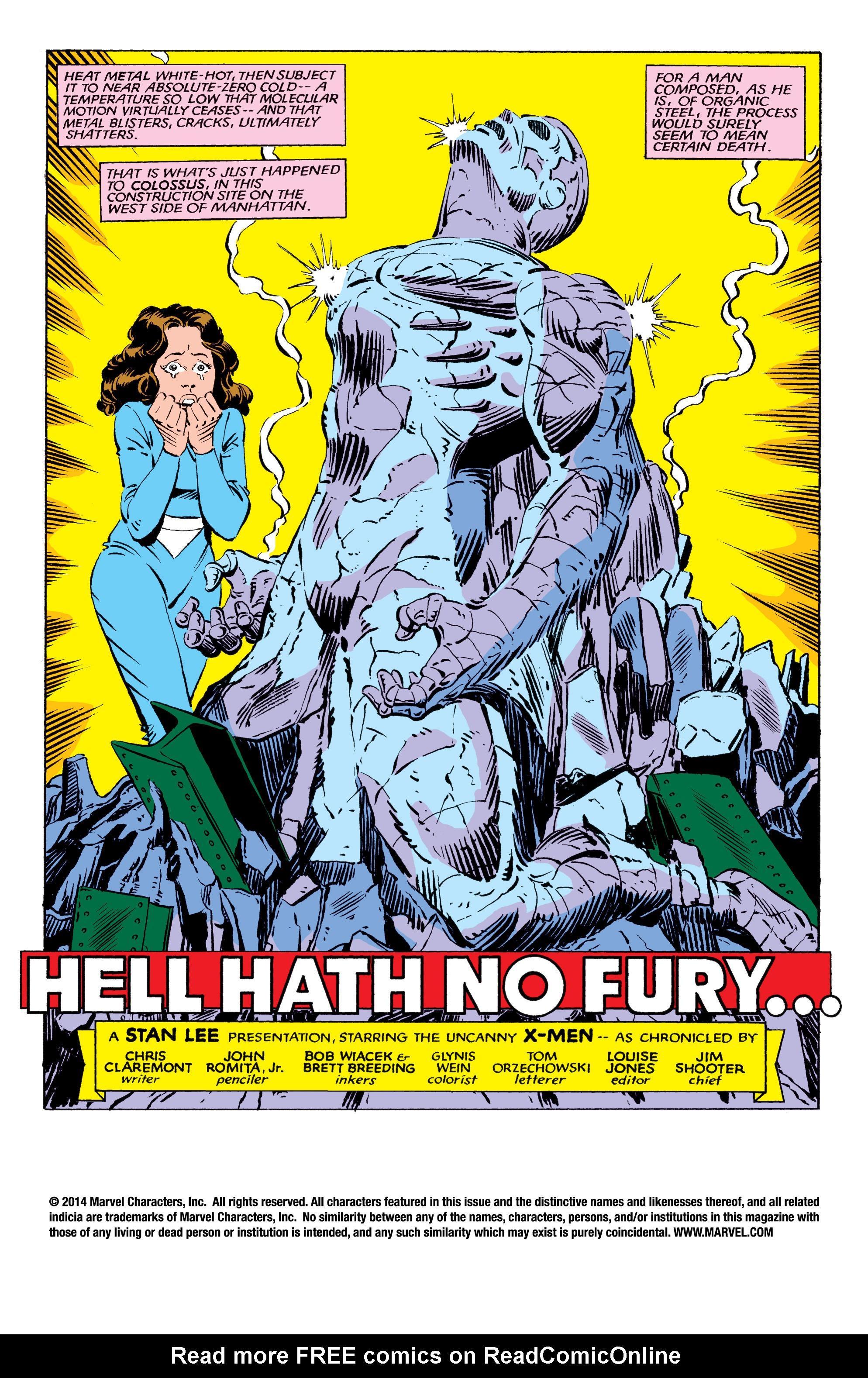 Read online Uncanny X-Men (1963) comic -  Issue #178 - 2