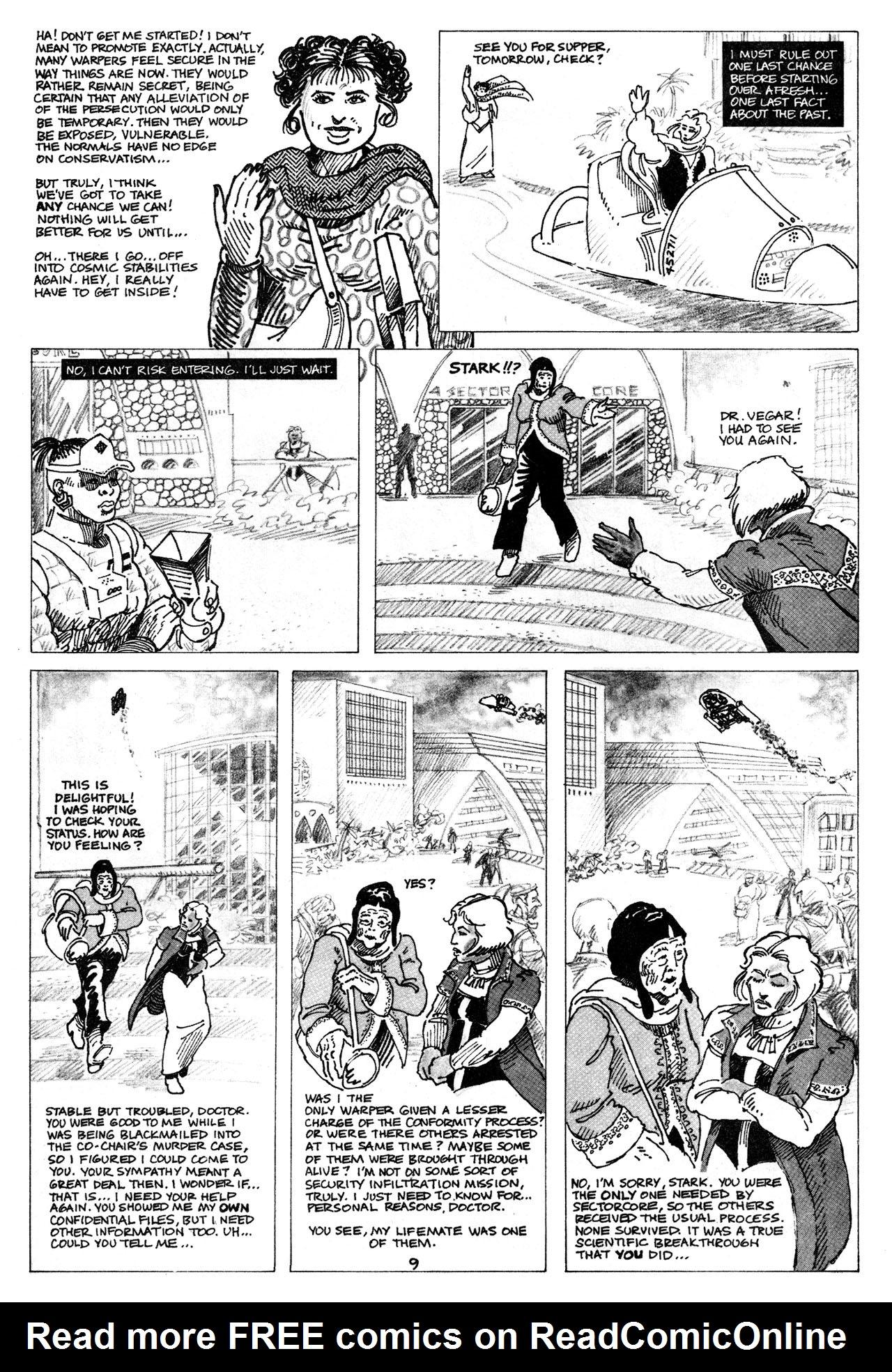 Read online Star*Reach comic -  Issue #16 - 11