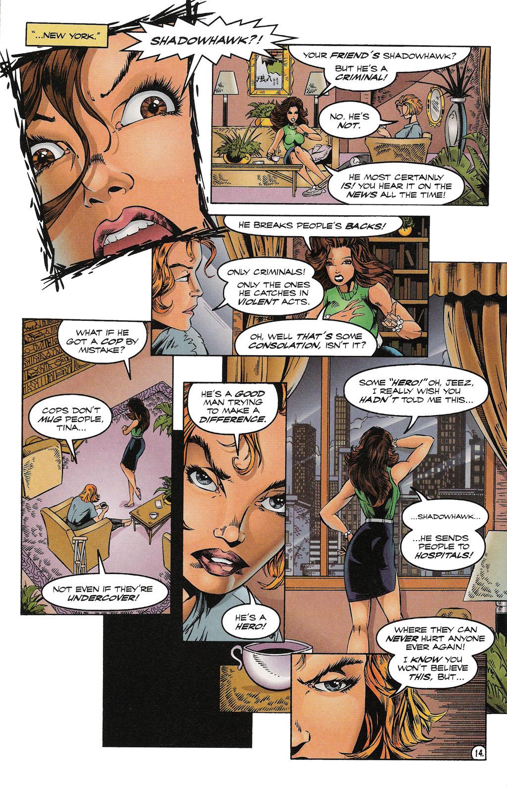 Read online ShadowHawk comic -  Issue #15 - 15