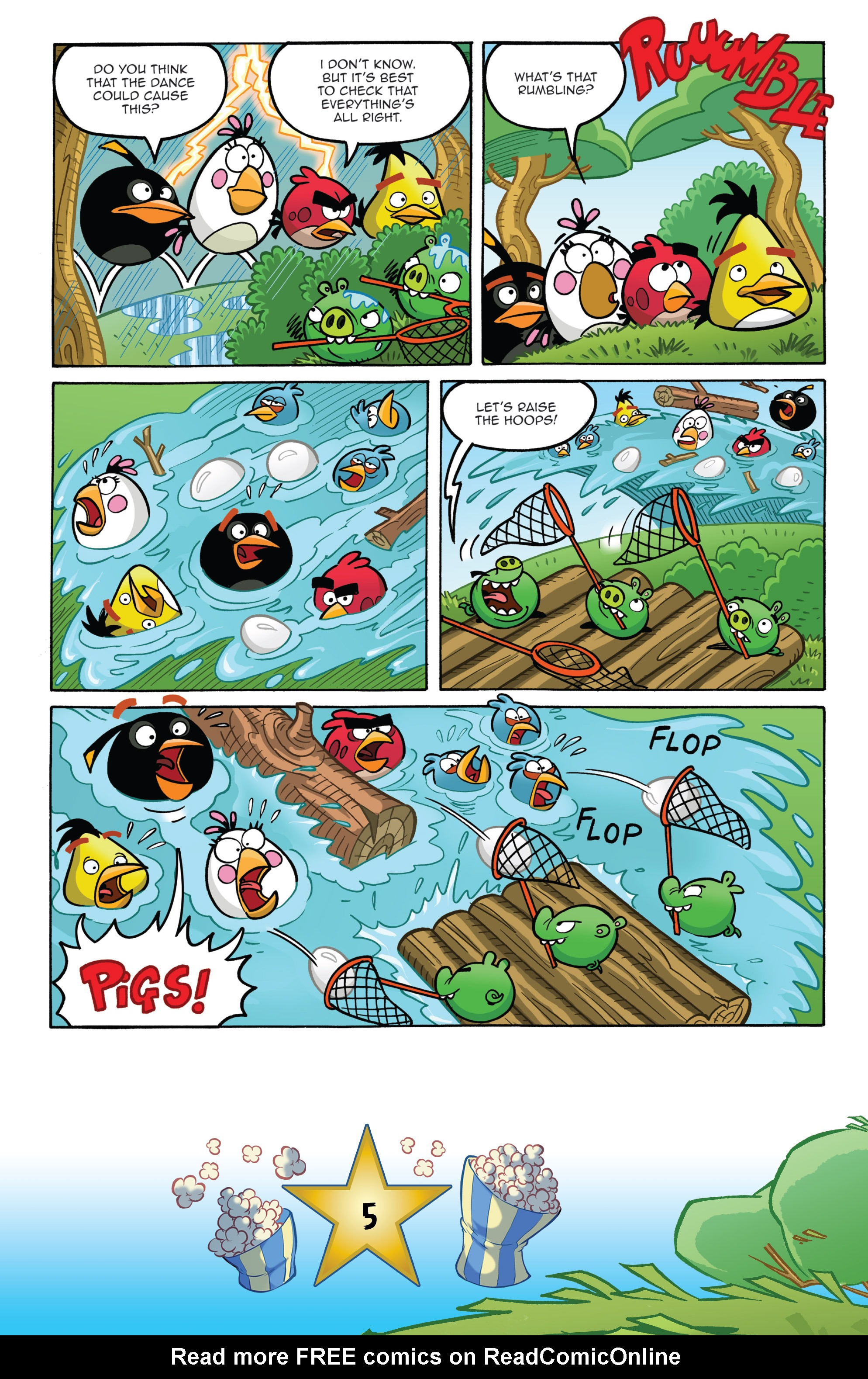Read online Angry Birds Comics (2016) comic -  Issue #5 - 7