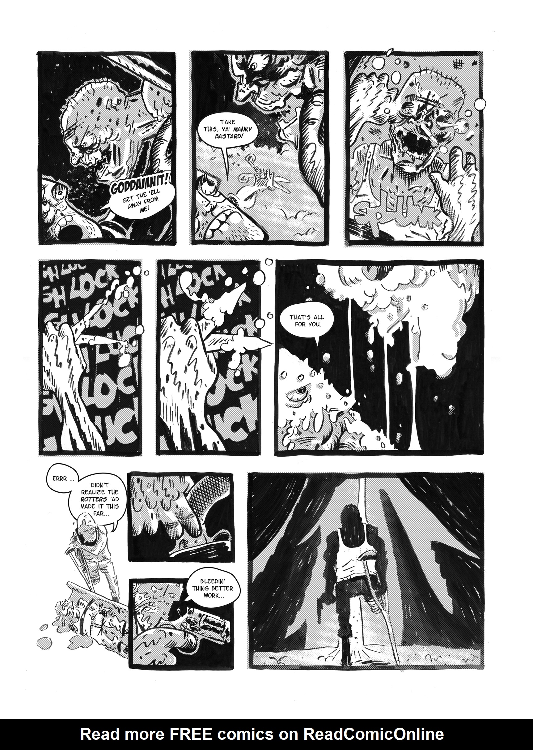 Read online FUBAR comic -  Issue #1 - 67