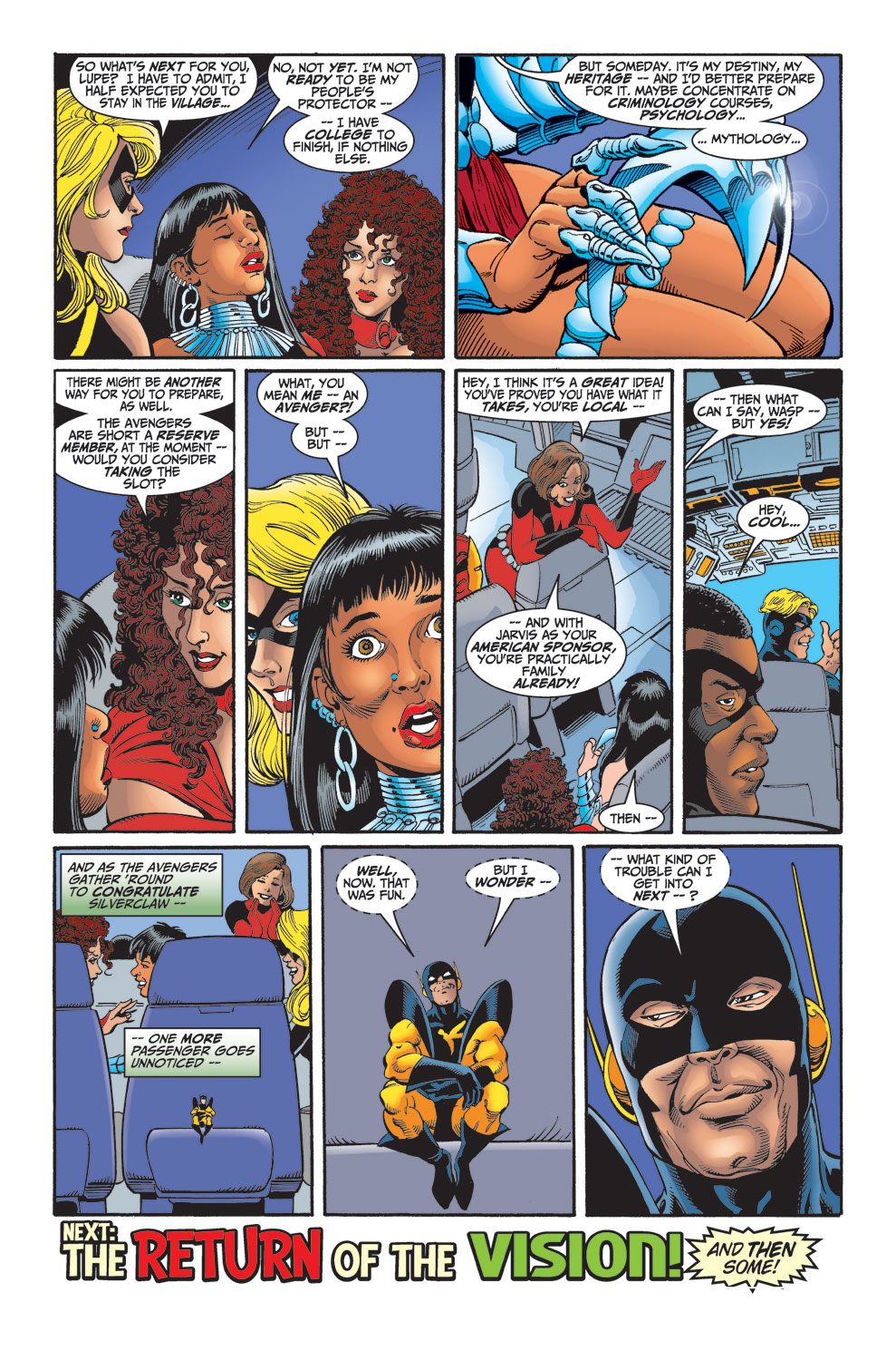 Read online Avengers (1998) comic -  Issue #30 - 23