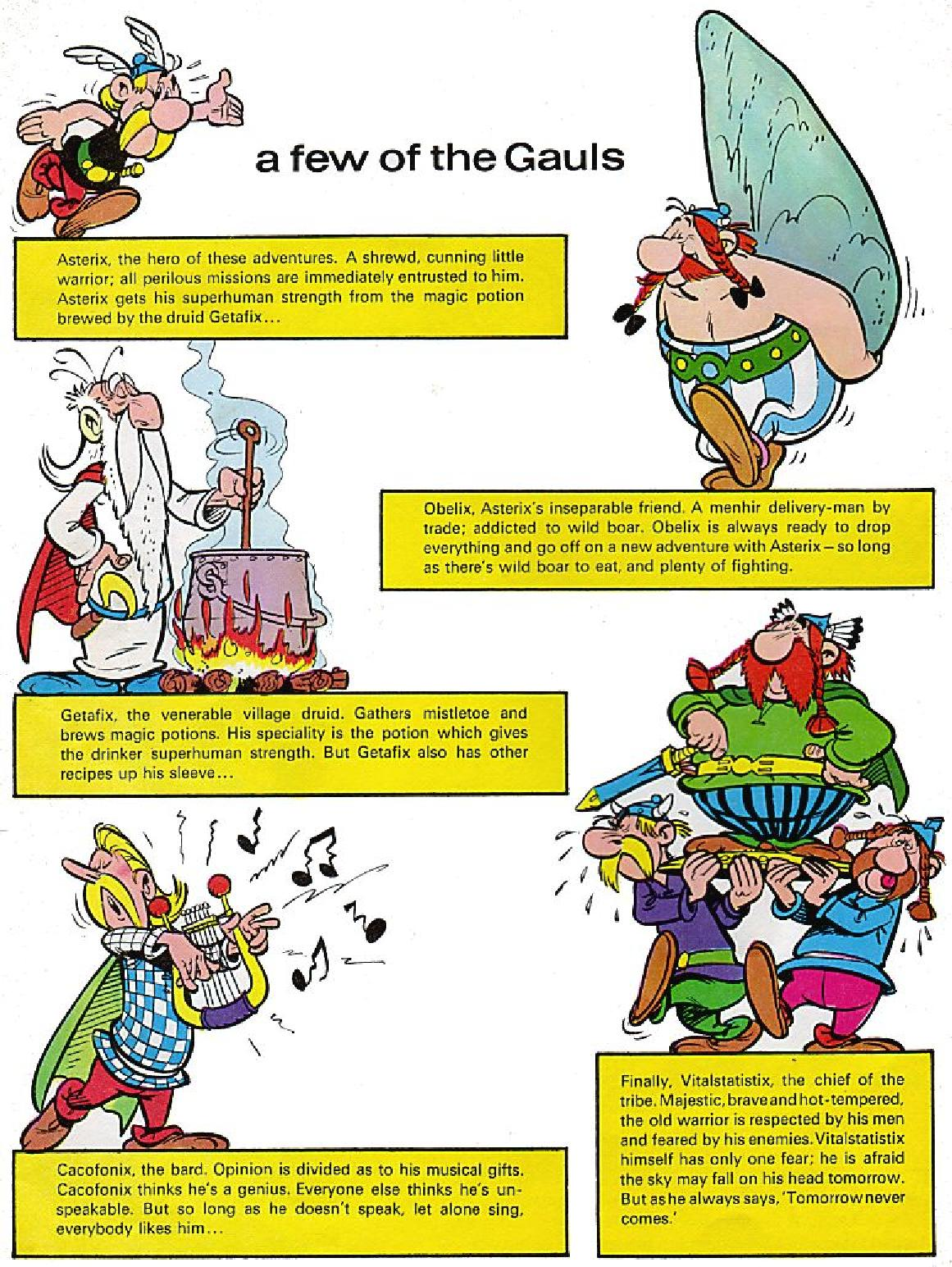 Read online Asterix comic -  Issue #1 - 4