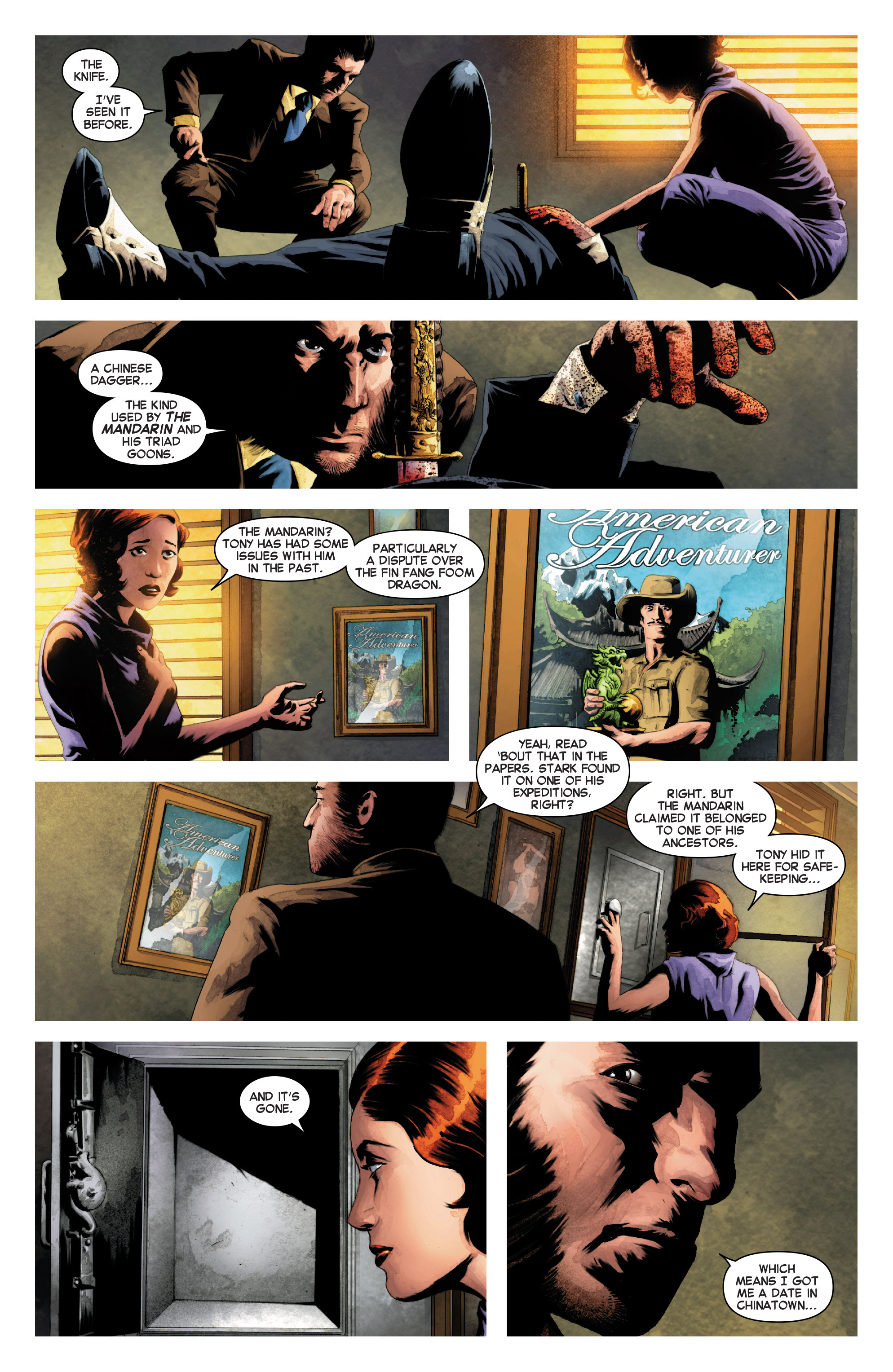 Read online Secret Wars Journal comic -  Issue #3 - 6