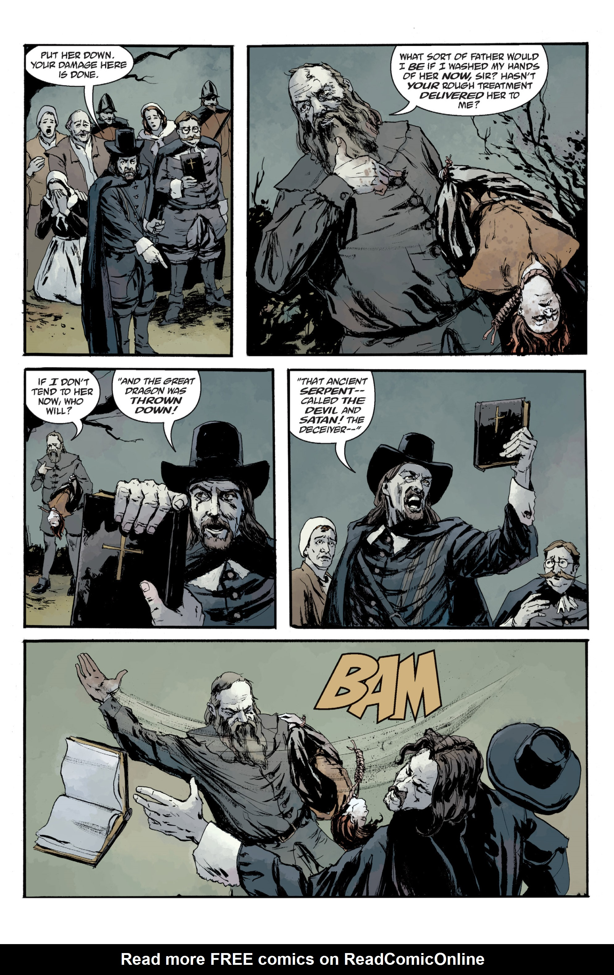 Read online Sir Edward Grey, Witchfinder: In the Service of Angels comic -  Issue # TPB - 139