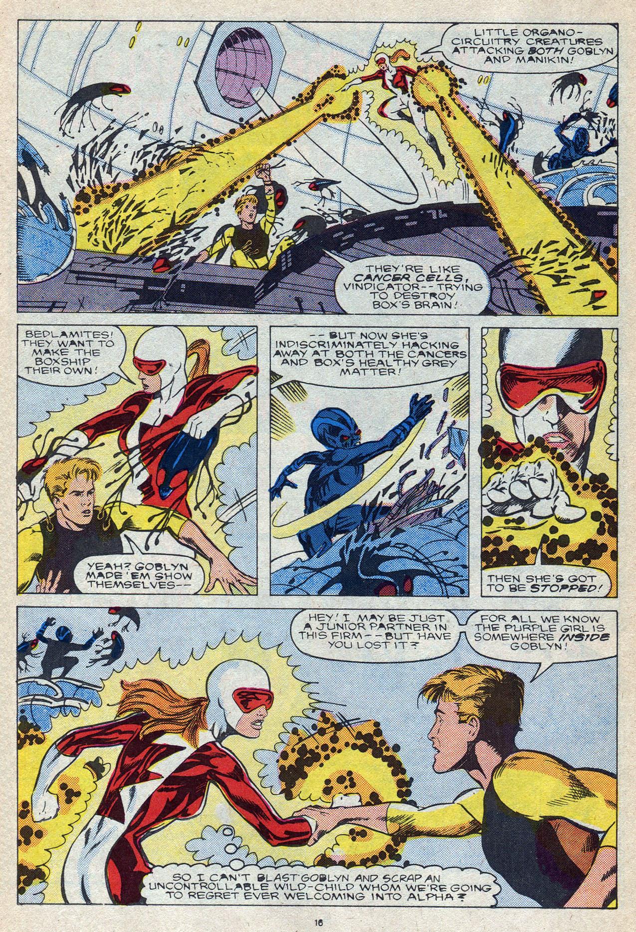 Read online Alpha Flight (1983) comic -  Issue #56 - 23