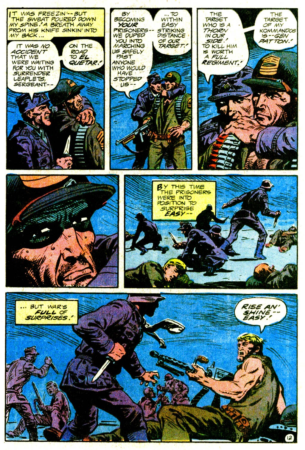 Read online Sgt. Rock comic -  Issue #370 - 17