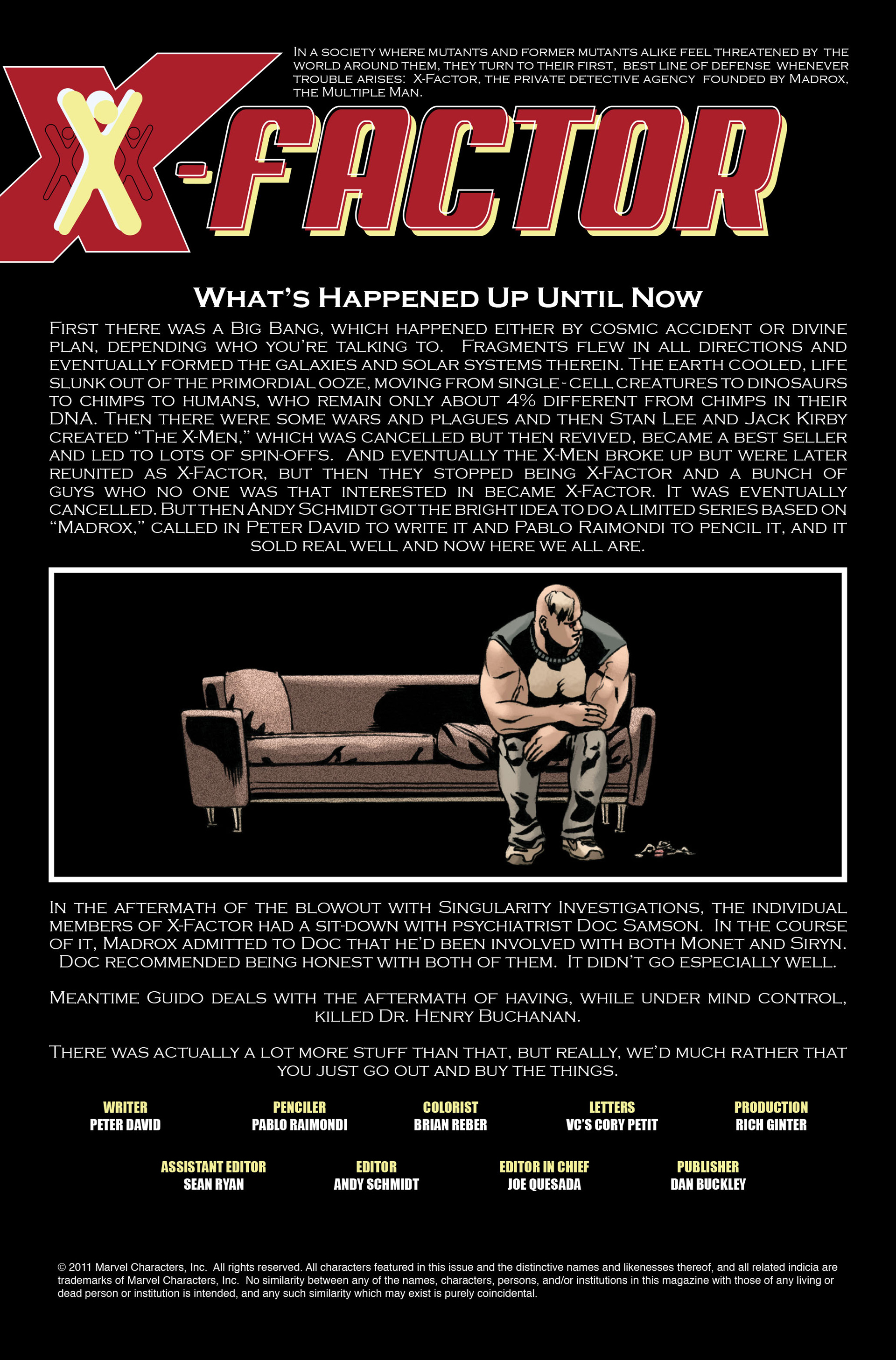 Read online X-Factor (2006) comic -  Issue #14 - 2