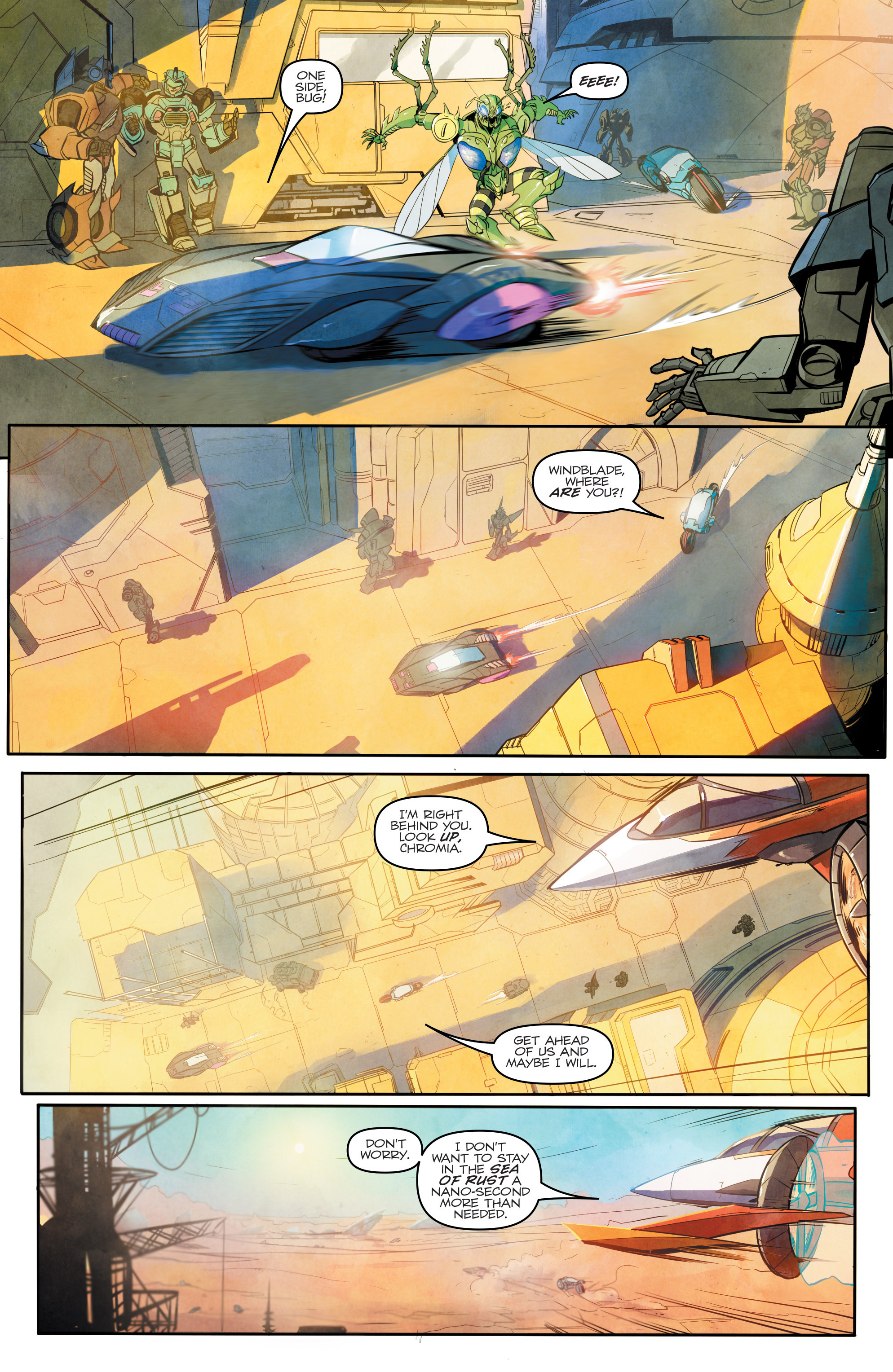 Read online Transformers: Combiner Hunters comic -  Issue # Full - 9