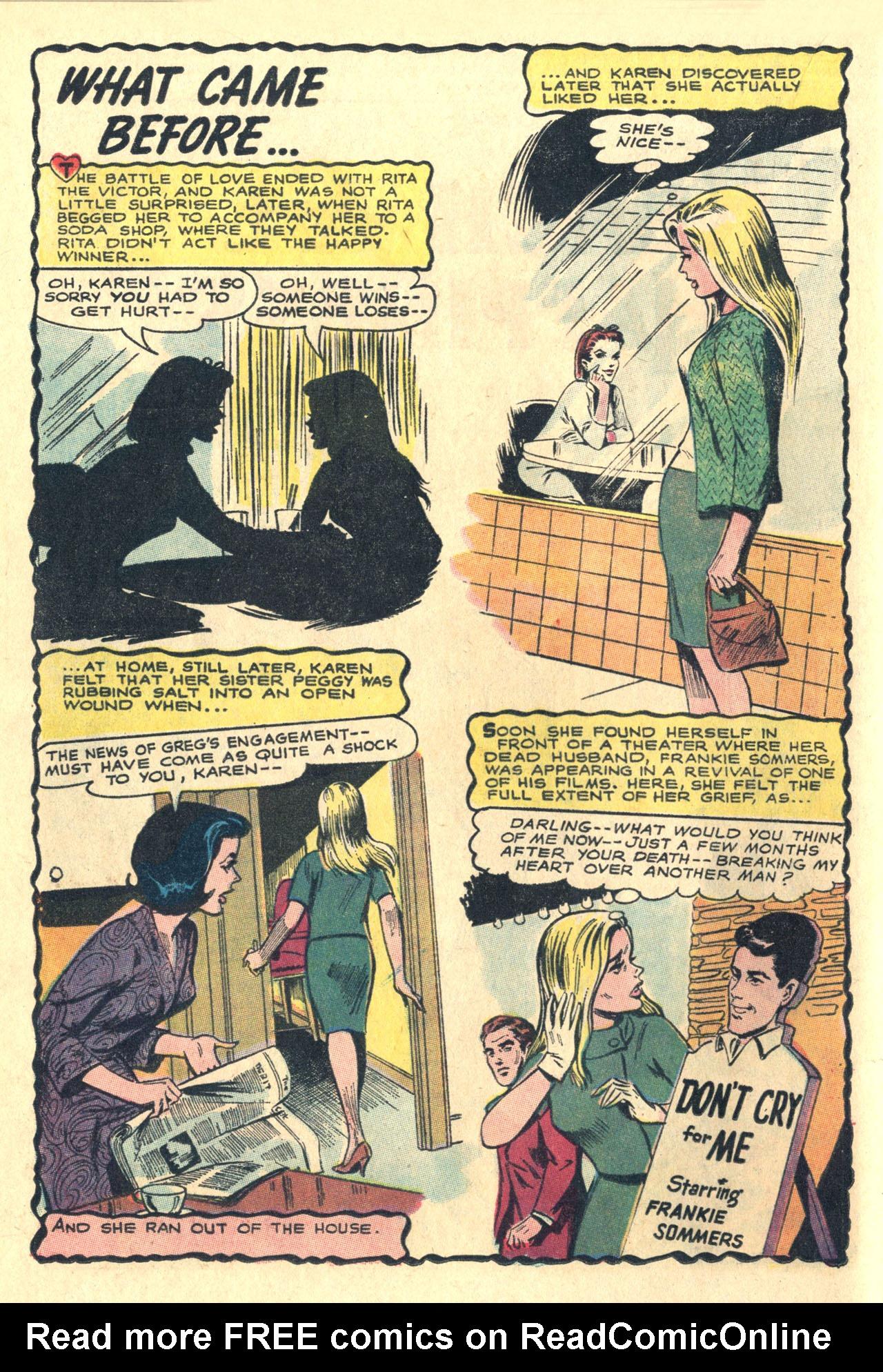Read online Secret Hearts comic -  Issue #116 - 20