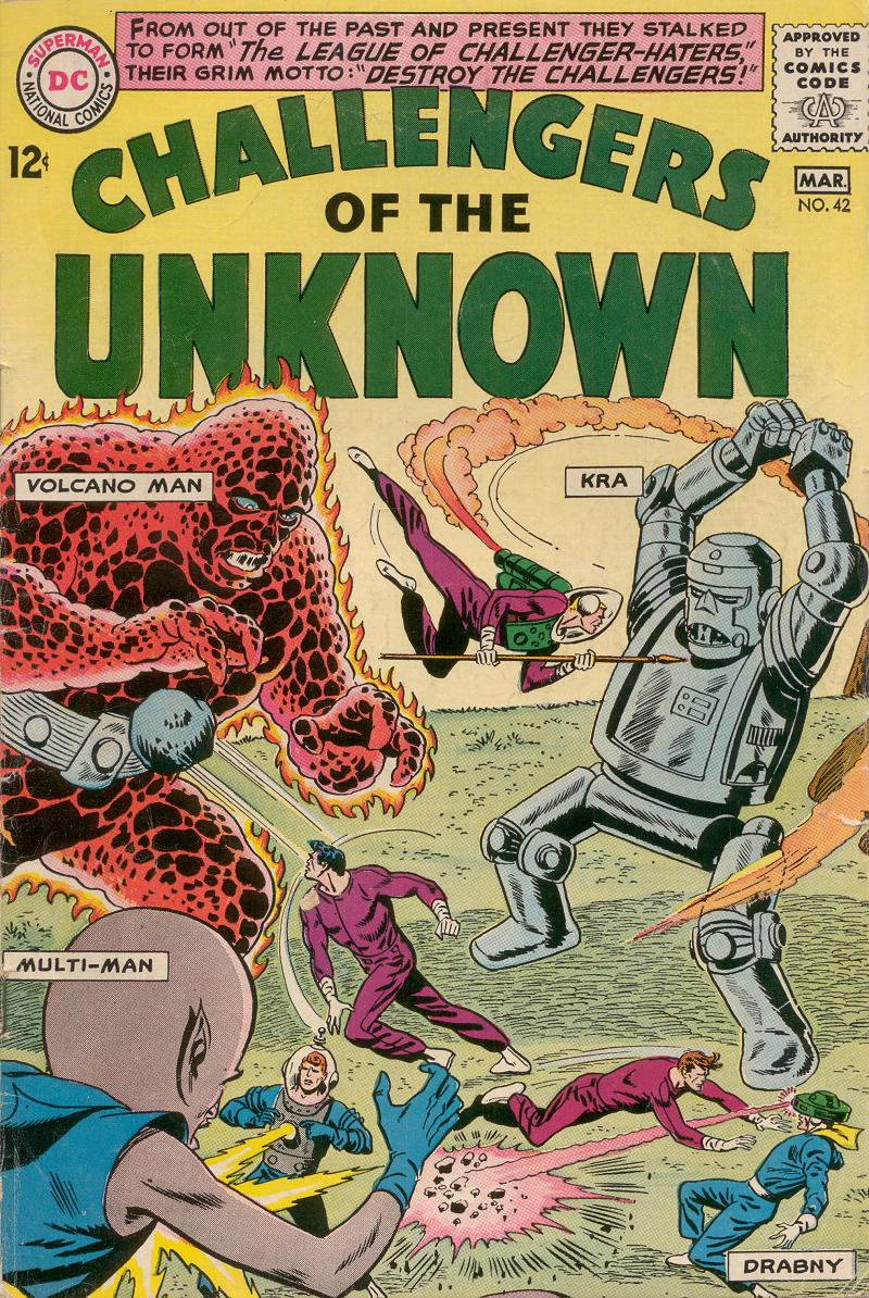 Challengers of the Unknown (1958) issue 42 - Page 1