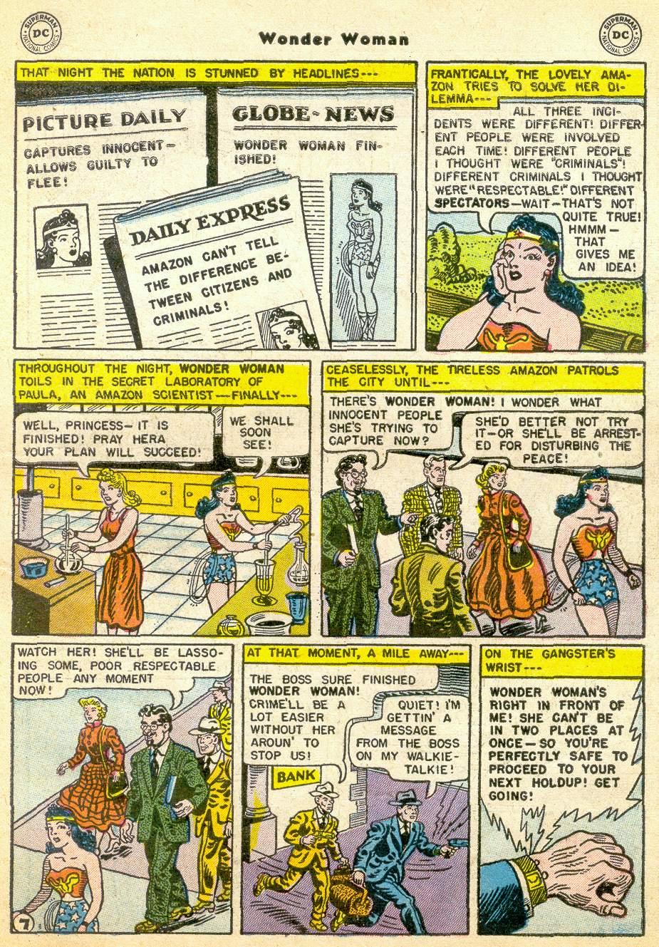 Read online Wonder Woman (1942) comic -  Issue #76 - 31