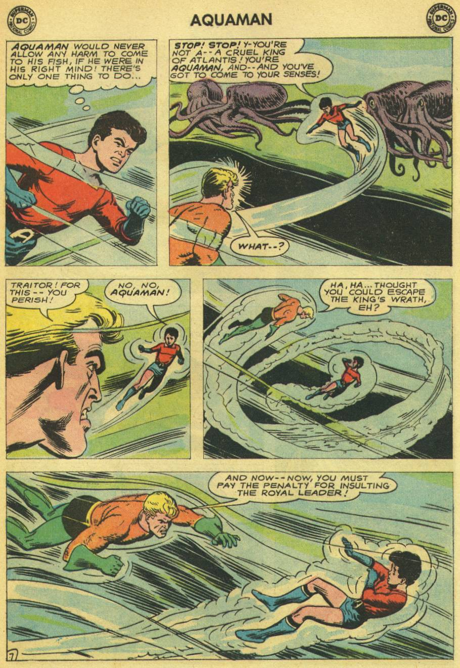 Read online Aquaman (1962) comic -  Issue #14 - 25