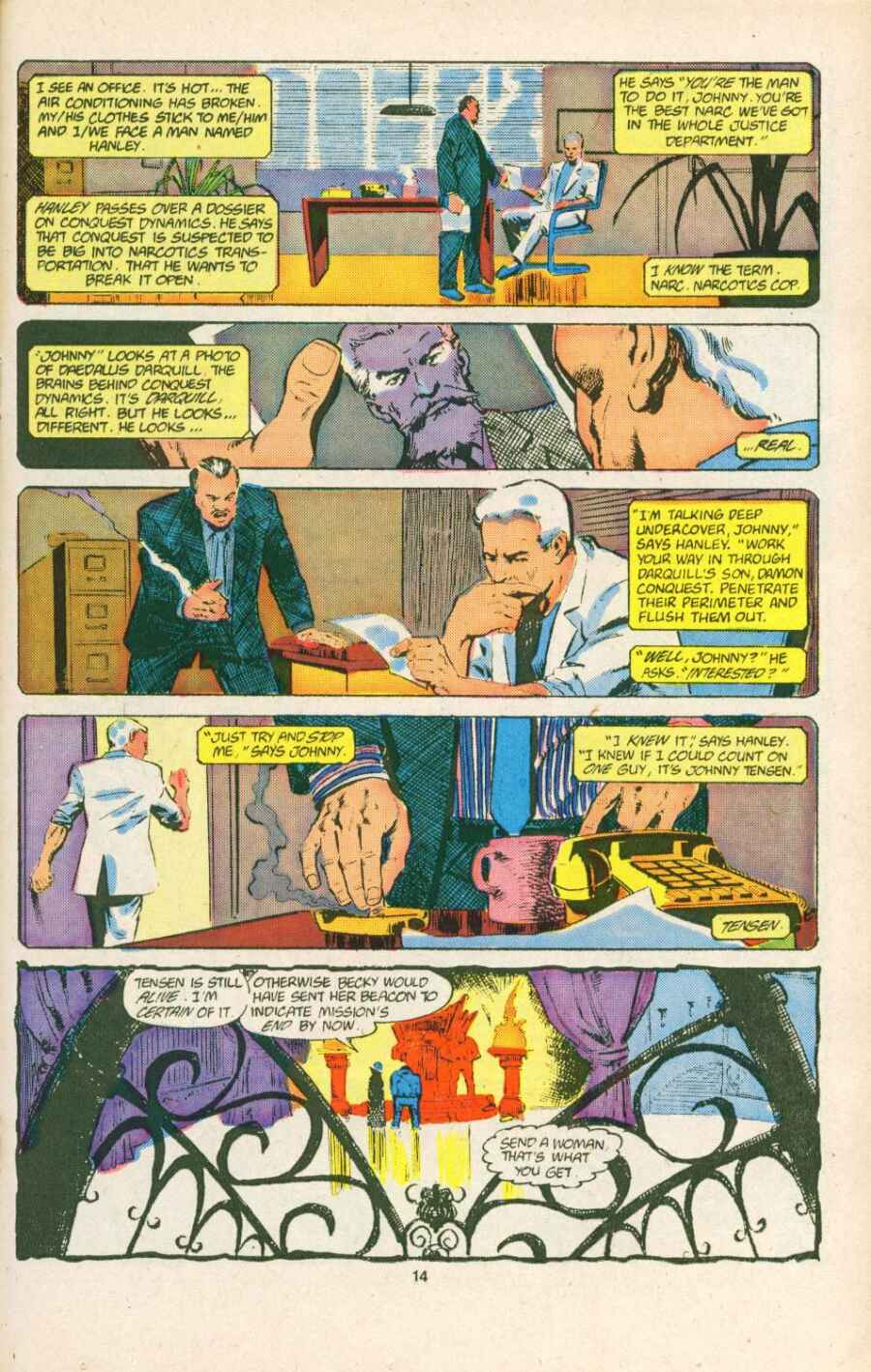 Read online Justice (1986) comic -  Issue #15 - 15