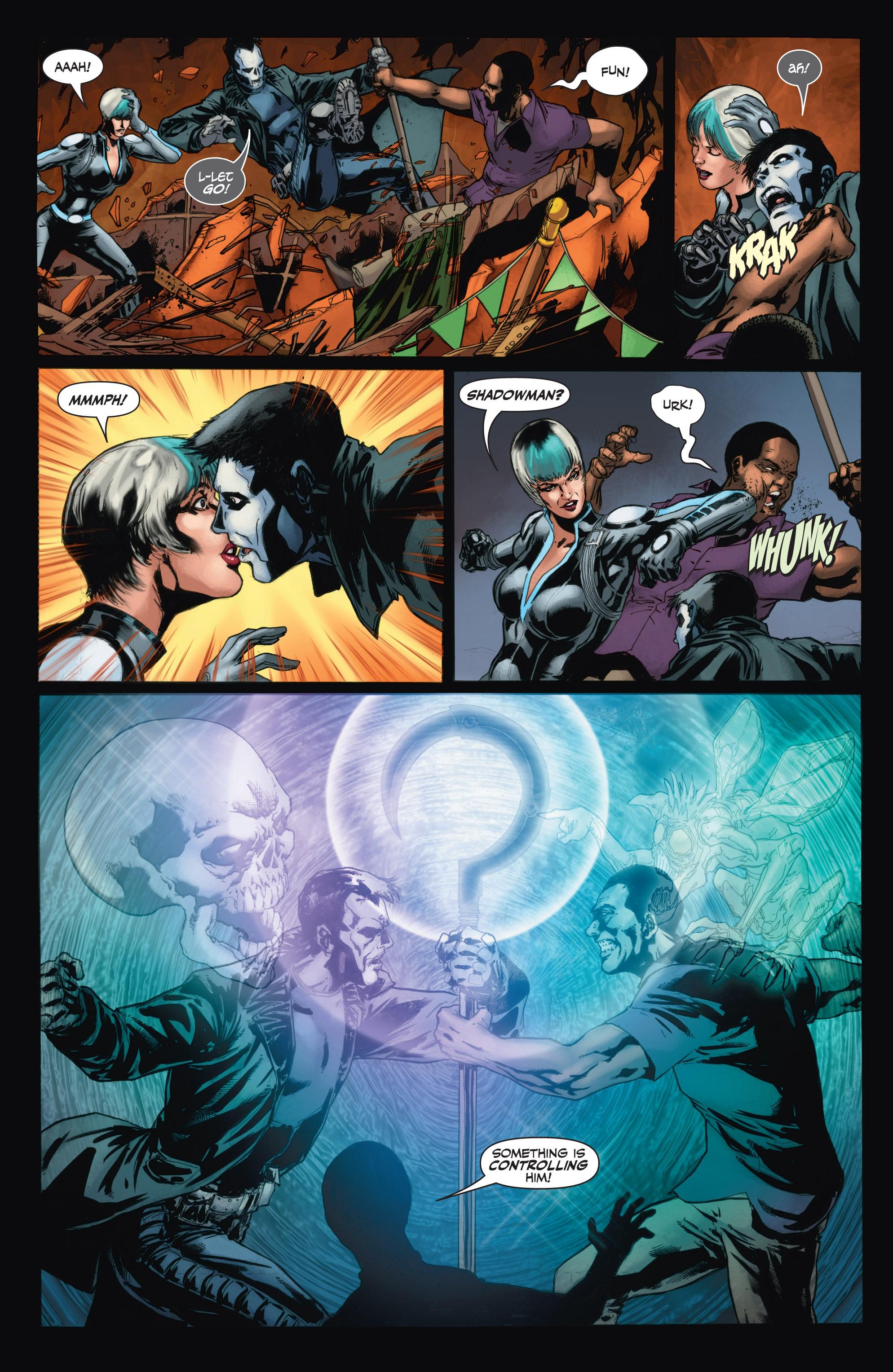 Read online Shadowman (2012) comic -  Issue #11 - 16