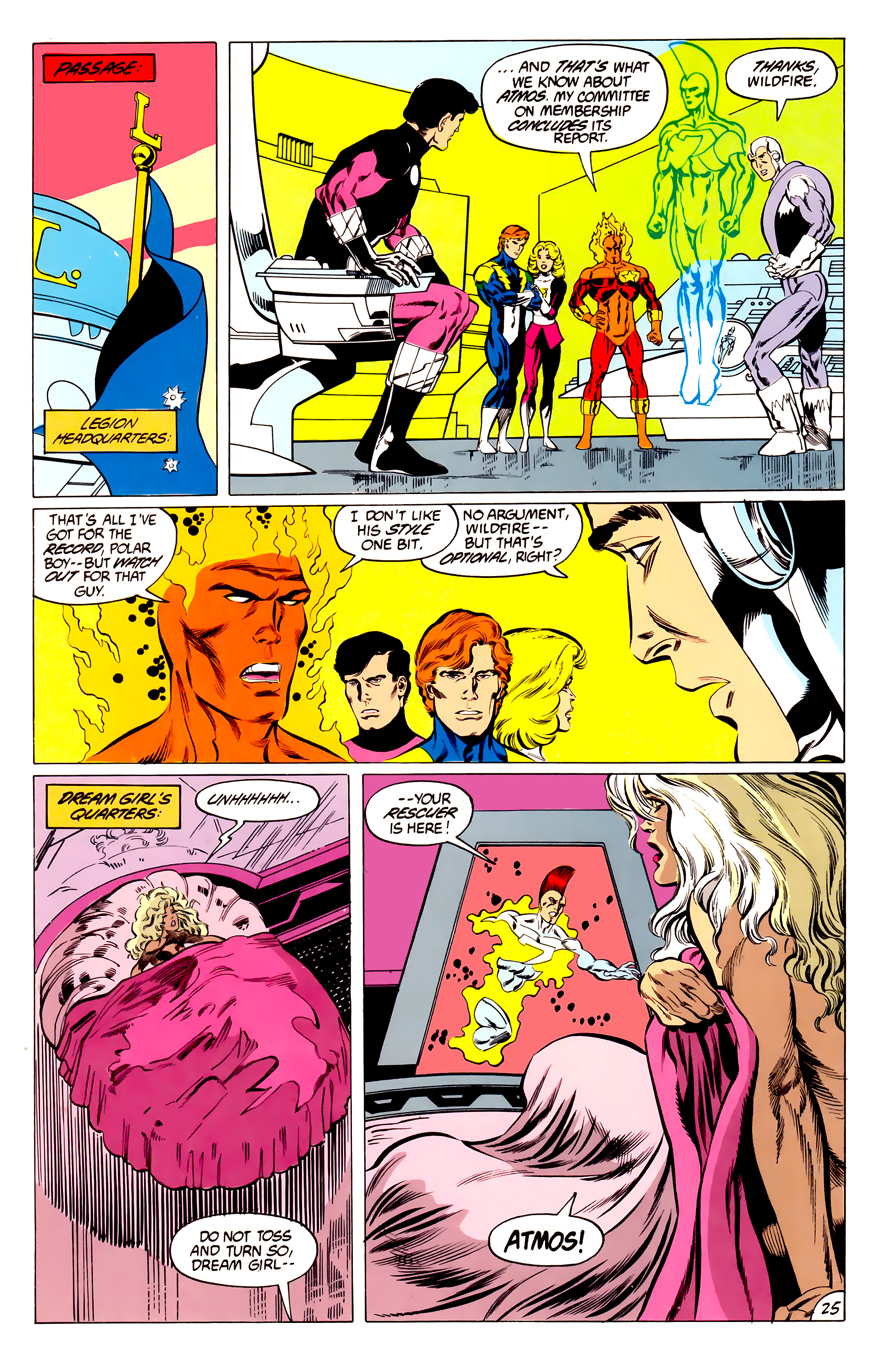 Legion of Super-Heroes (1984) 45 Page 25
