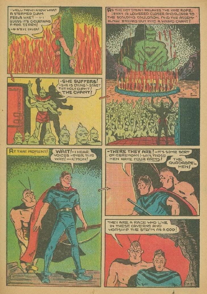 Read online Amazing Man Comics comic -  Issue #9 - 48