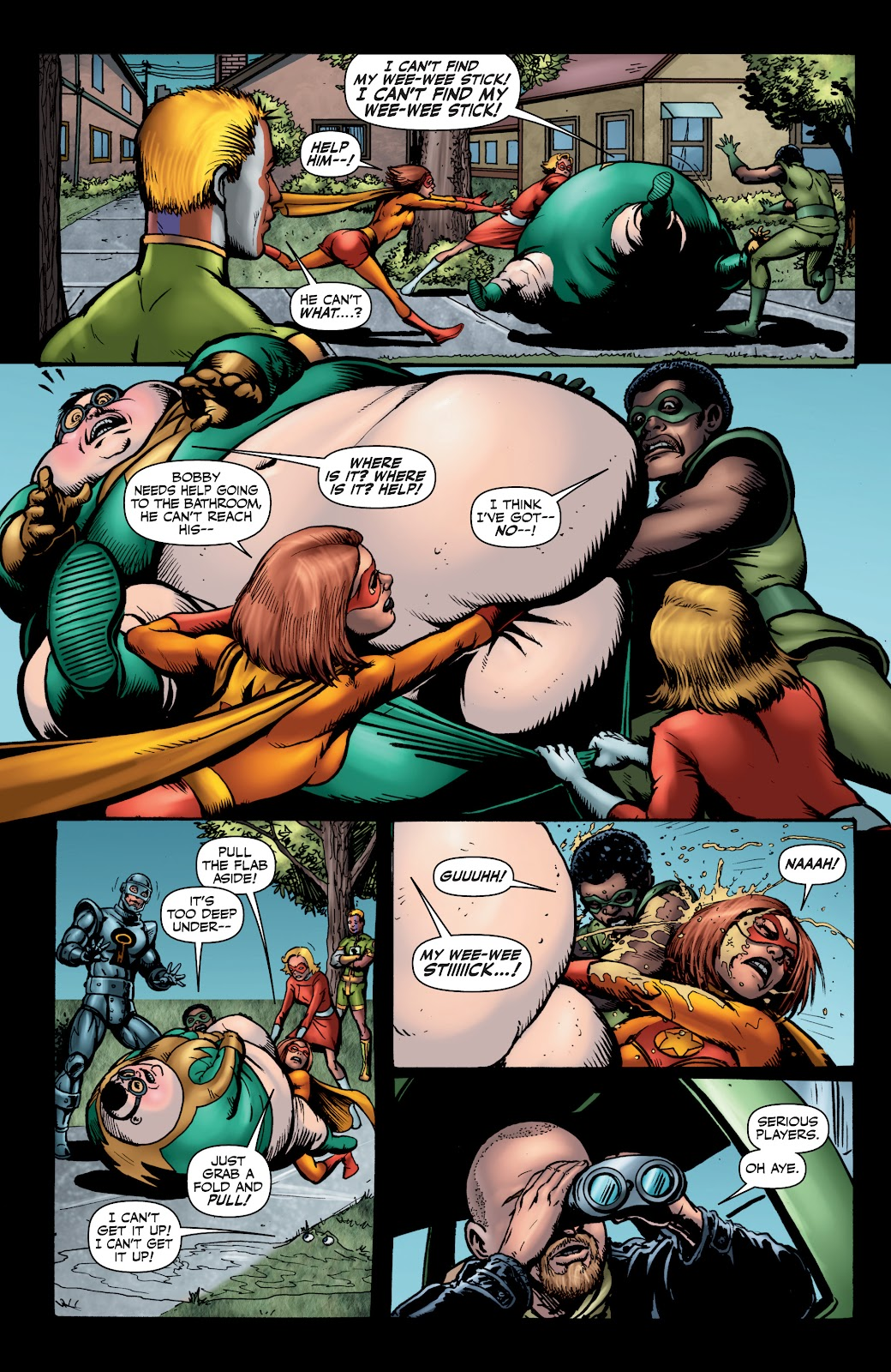 Read online The Boys Omnibus comic -  Issue # TPB 4 (Part 1) - 61