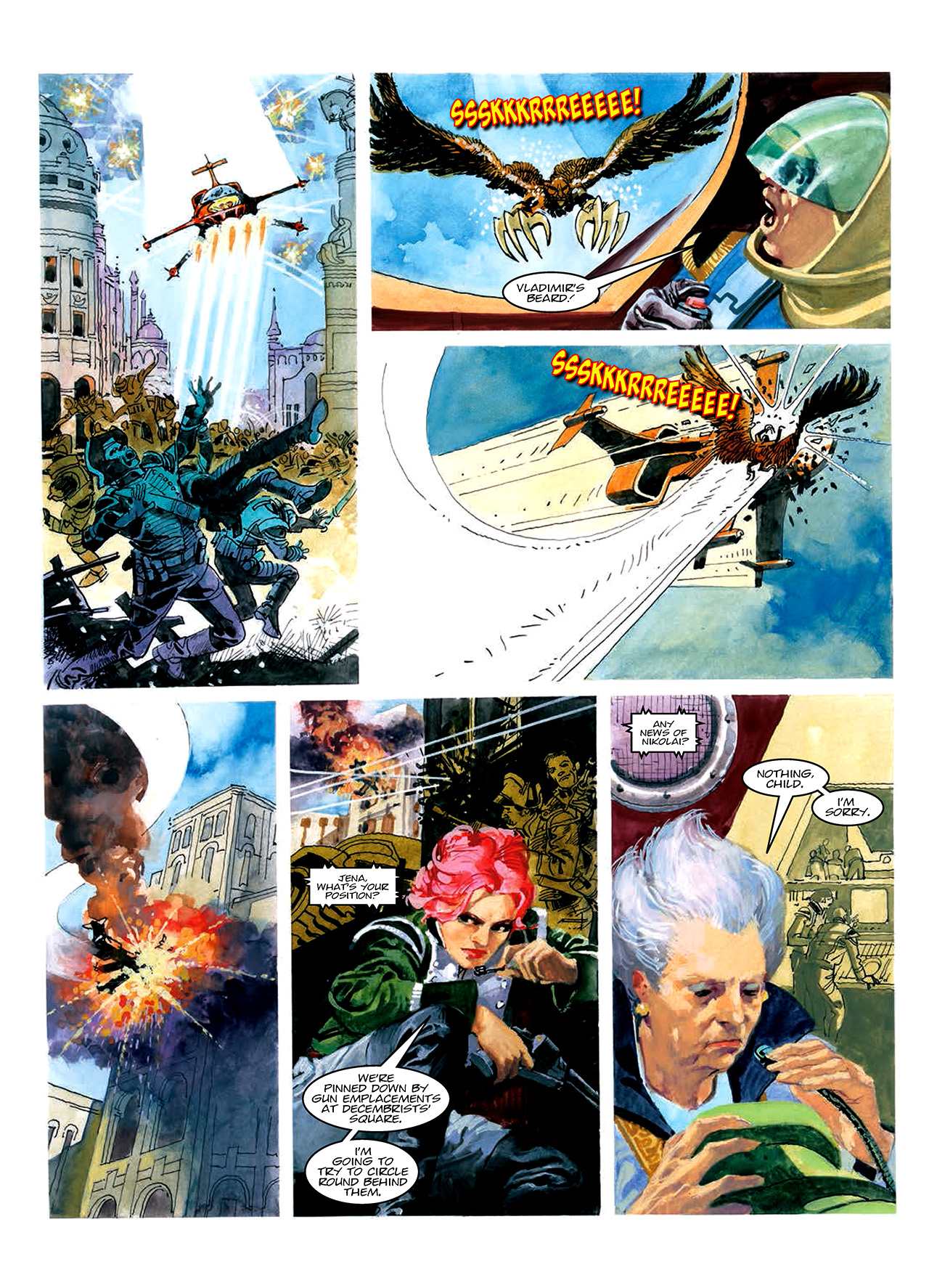 Read online Nikolai Dante comic -  Issue # TPB 10 - 61