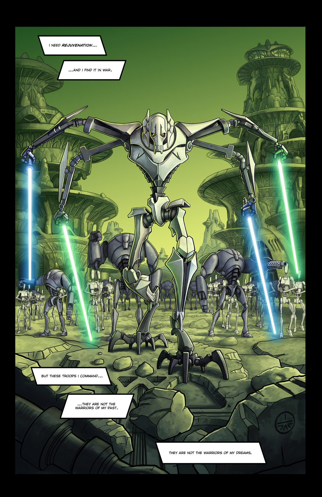 Read online Star Wars: Tales From The Clone Wars comic -  Issue # TPB - 72
