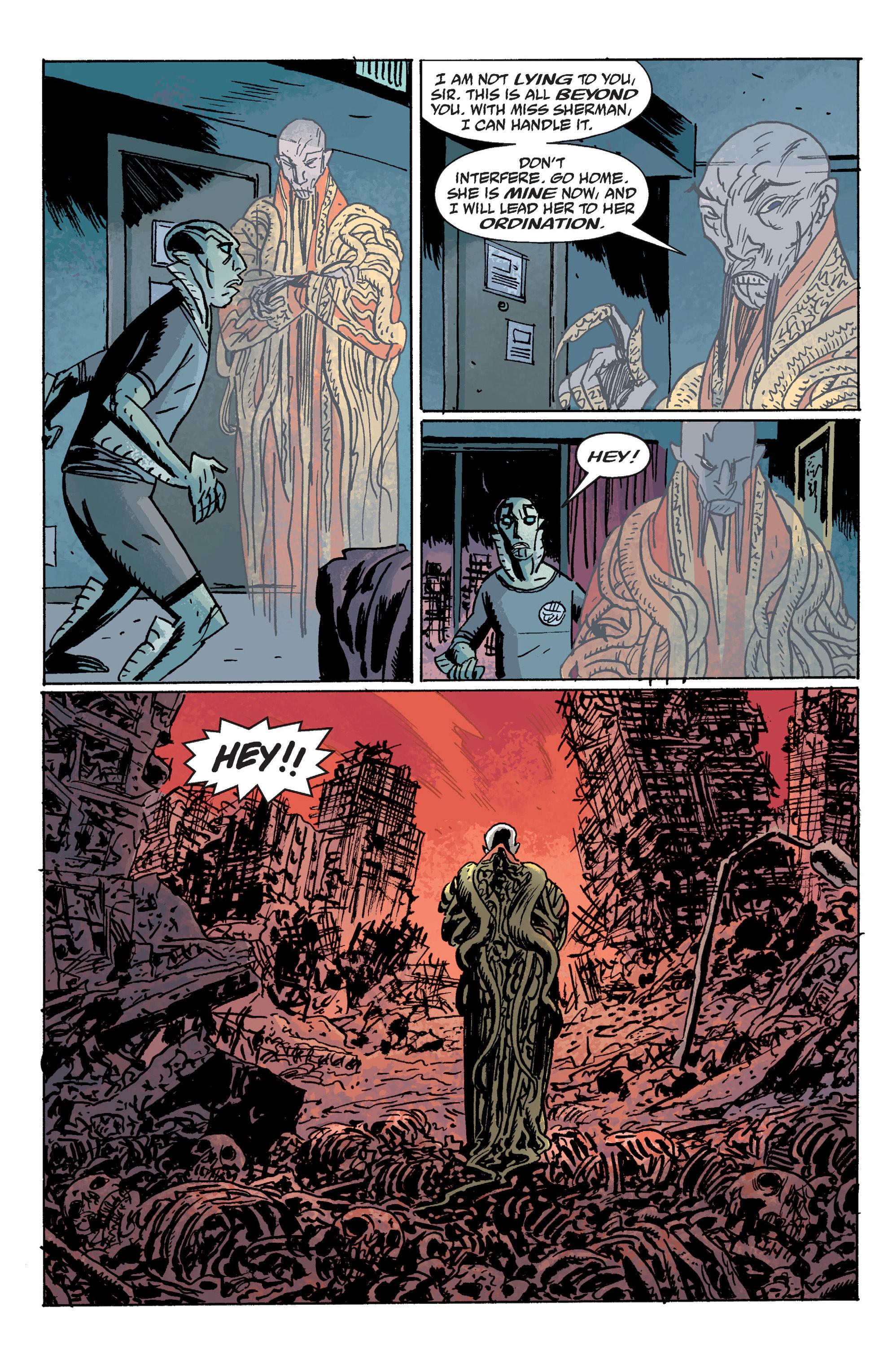 Read online B.P.R.D. (2003) comic -  Issue # TPB 10 - 136