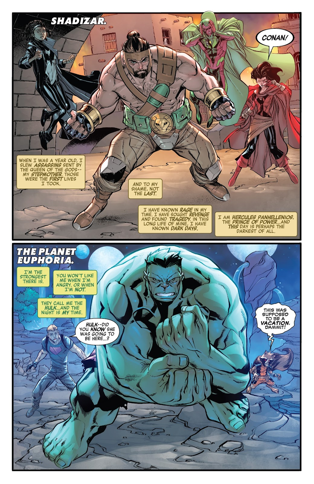 Read online Avengers No Road Home comic -  Issue #8 - 4