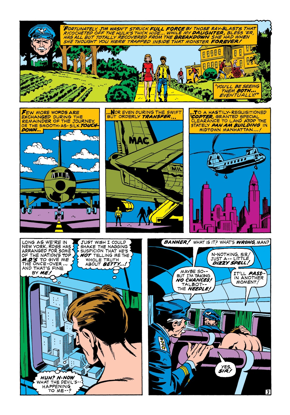 Read online Marvel Masterworks: The Incredible Hulk comic -  Issue # TPB 7 (Part 1) - 30